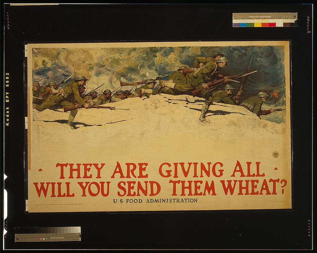 Save The Fleet, Eat Less Wheat: The Patriotic History Of Ditching ...
