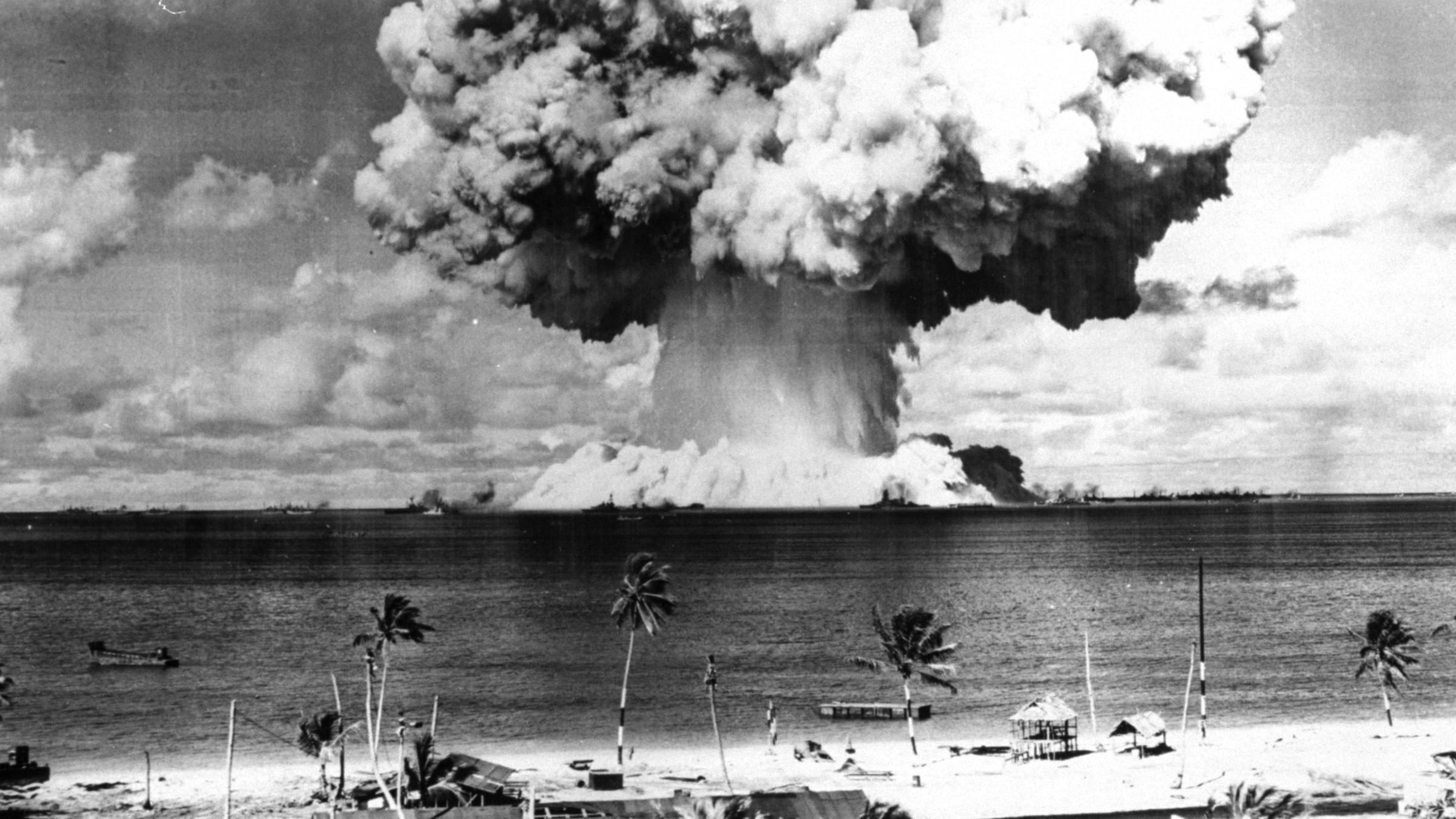 Bikini islands nuclear