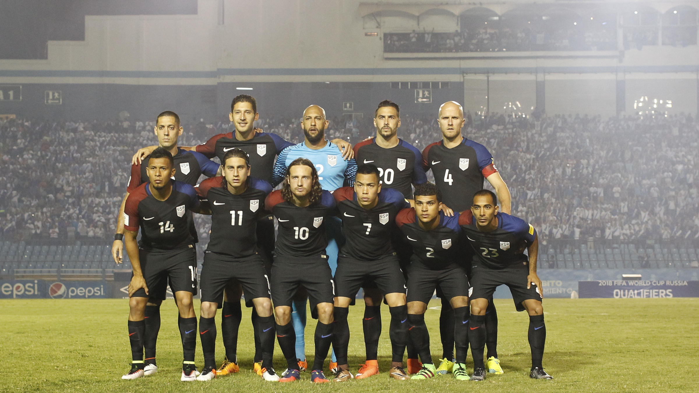 2018 Us Mens World Cup Team