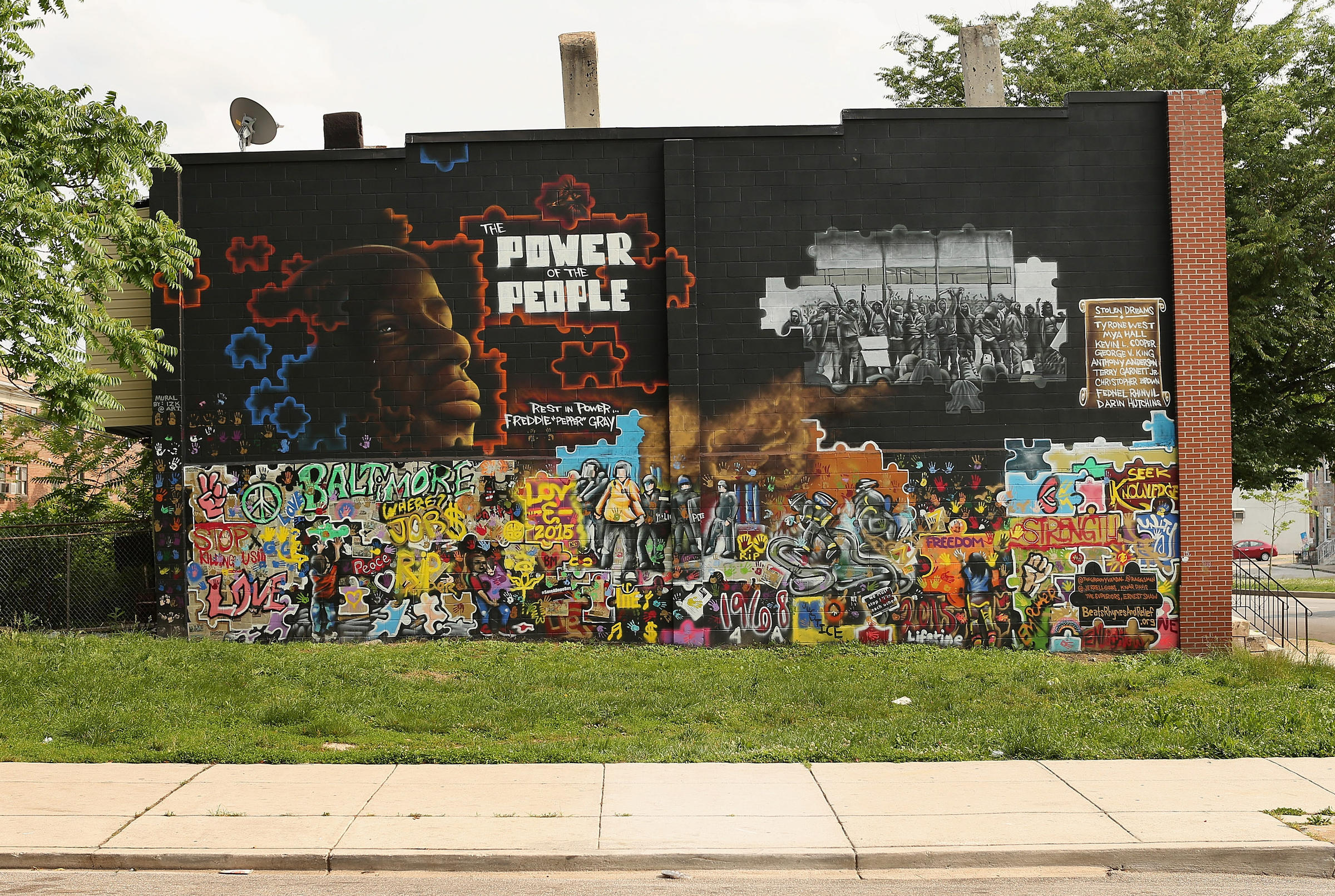 A year after freddie gray 39 s death trials set to begin for Baltimore mural program