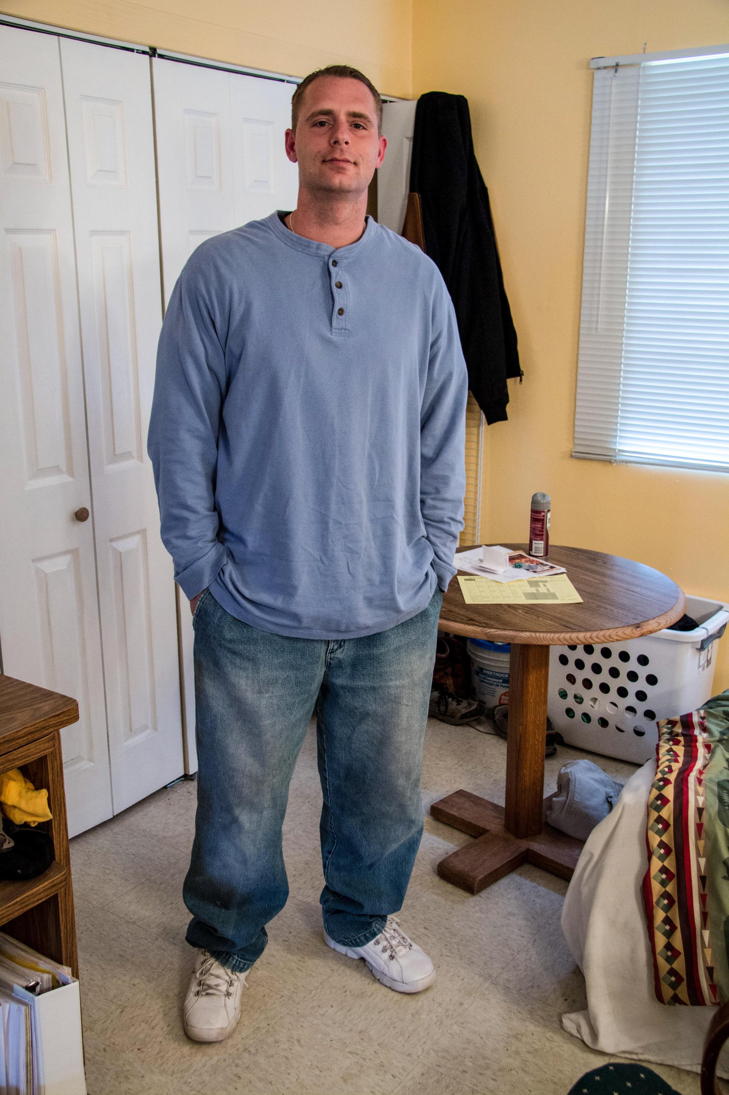Jason Lynch has battled opioid use for 22 years, feeding his addiction ...