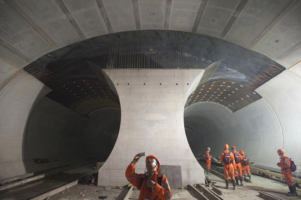 Switzerland Opens World's Longest, Deepest Rail Tunnel ...