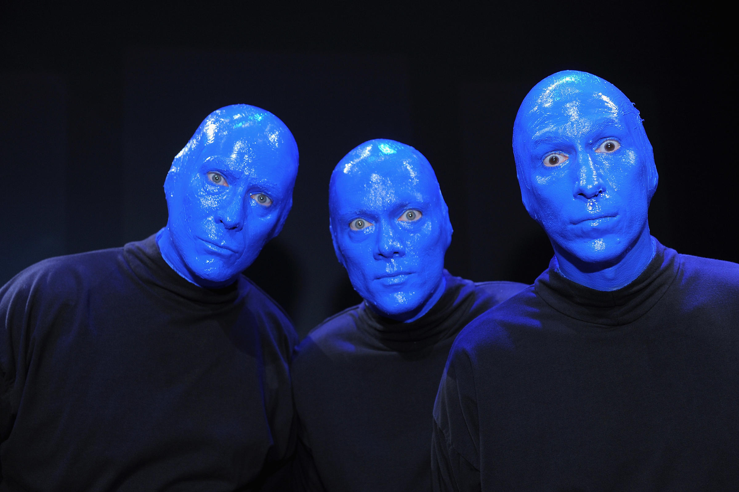 Phil Stanton From Left Chris Wink And Matt Goldman Are The Founders Of Blue Man Group