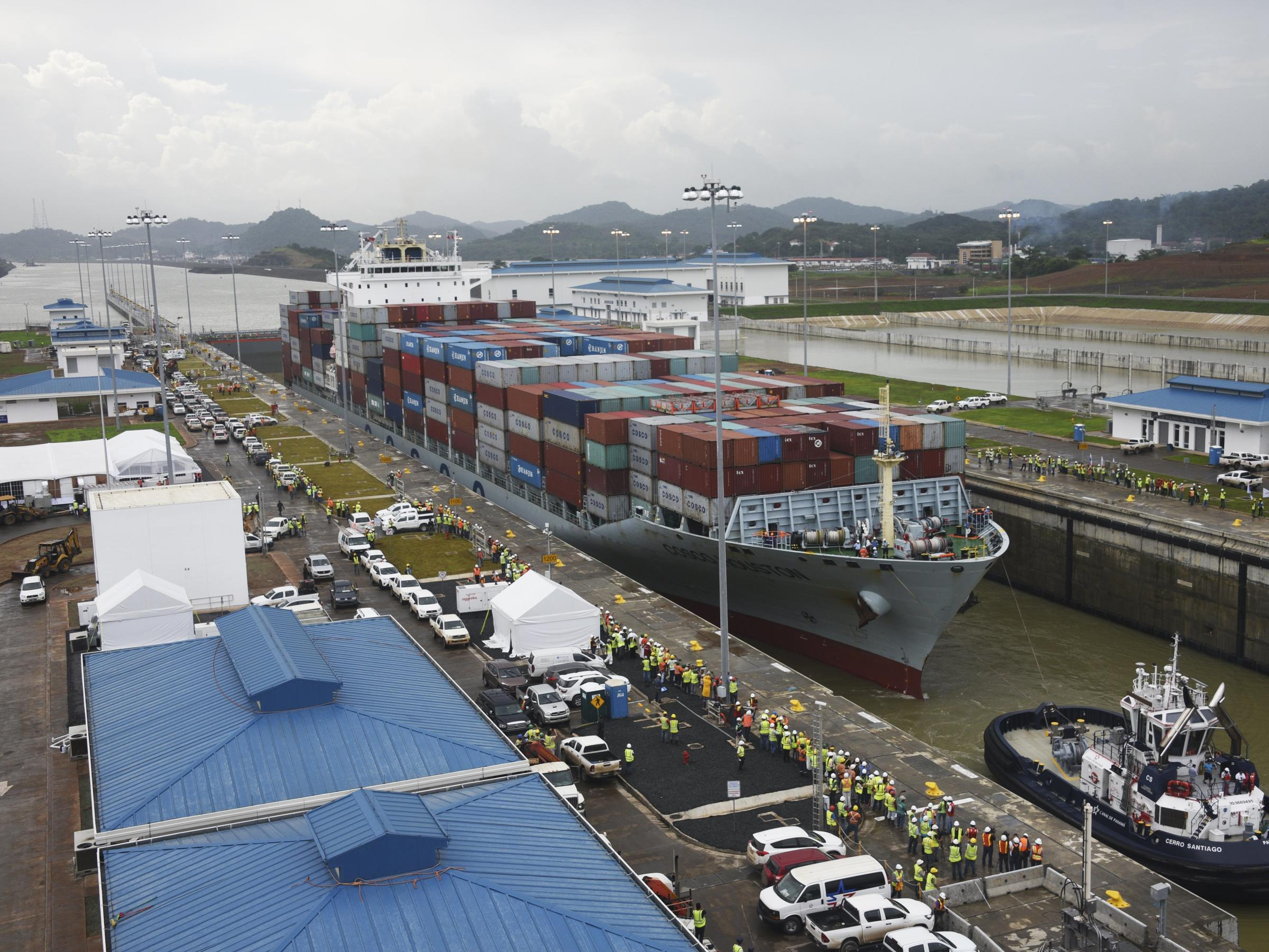panama canal project No matter what, the panama canal expansion project will be completed - eventually however every month of delay will cost panama money,.