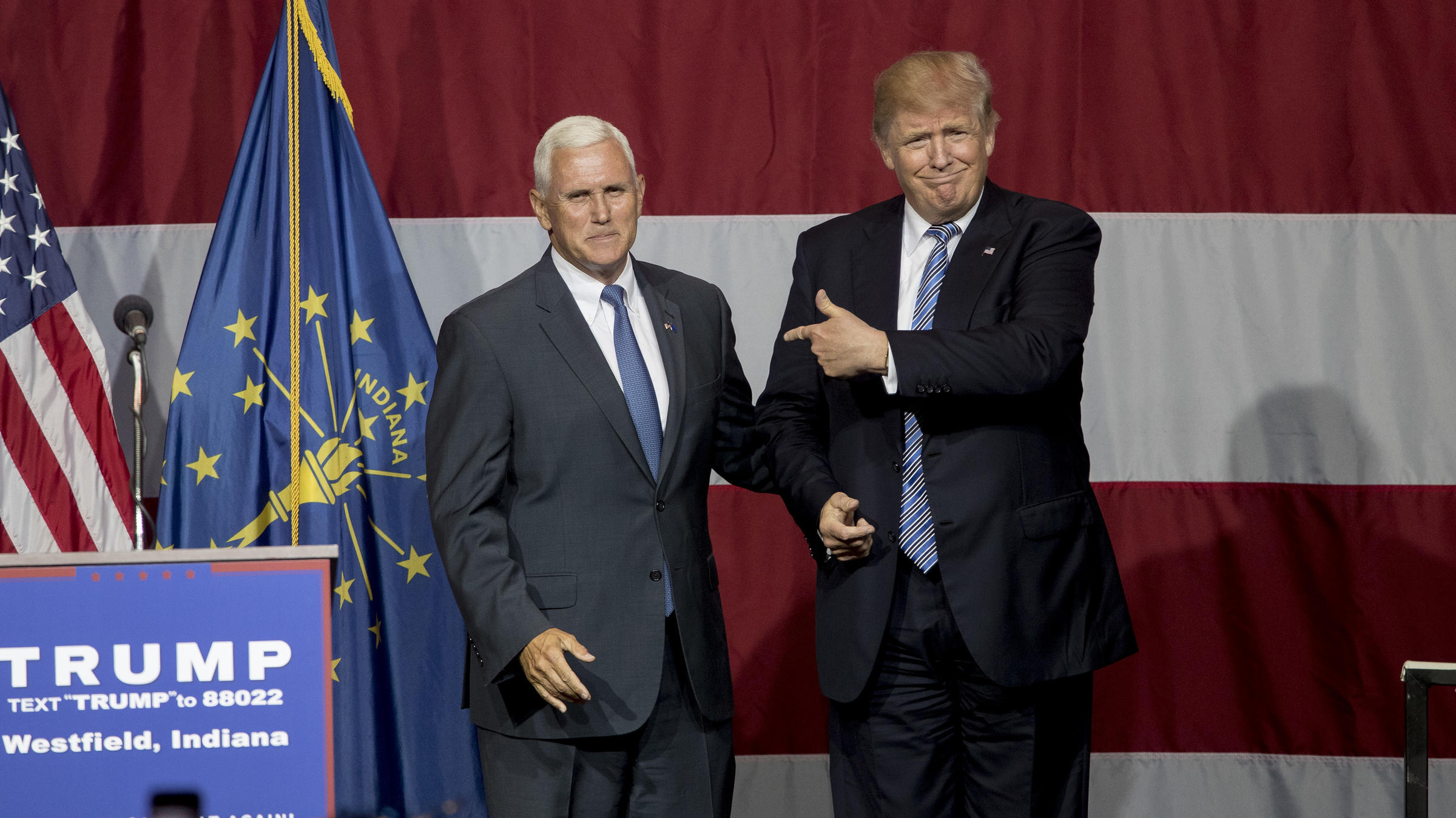 Trump campaign adviser: Mike Pence still VP pick