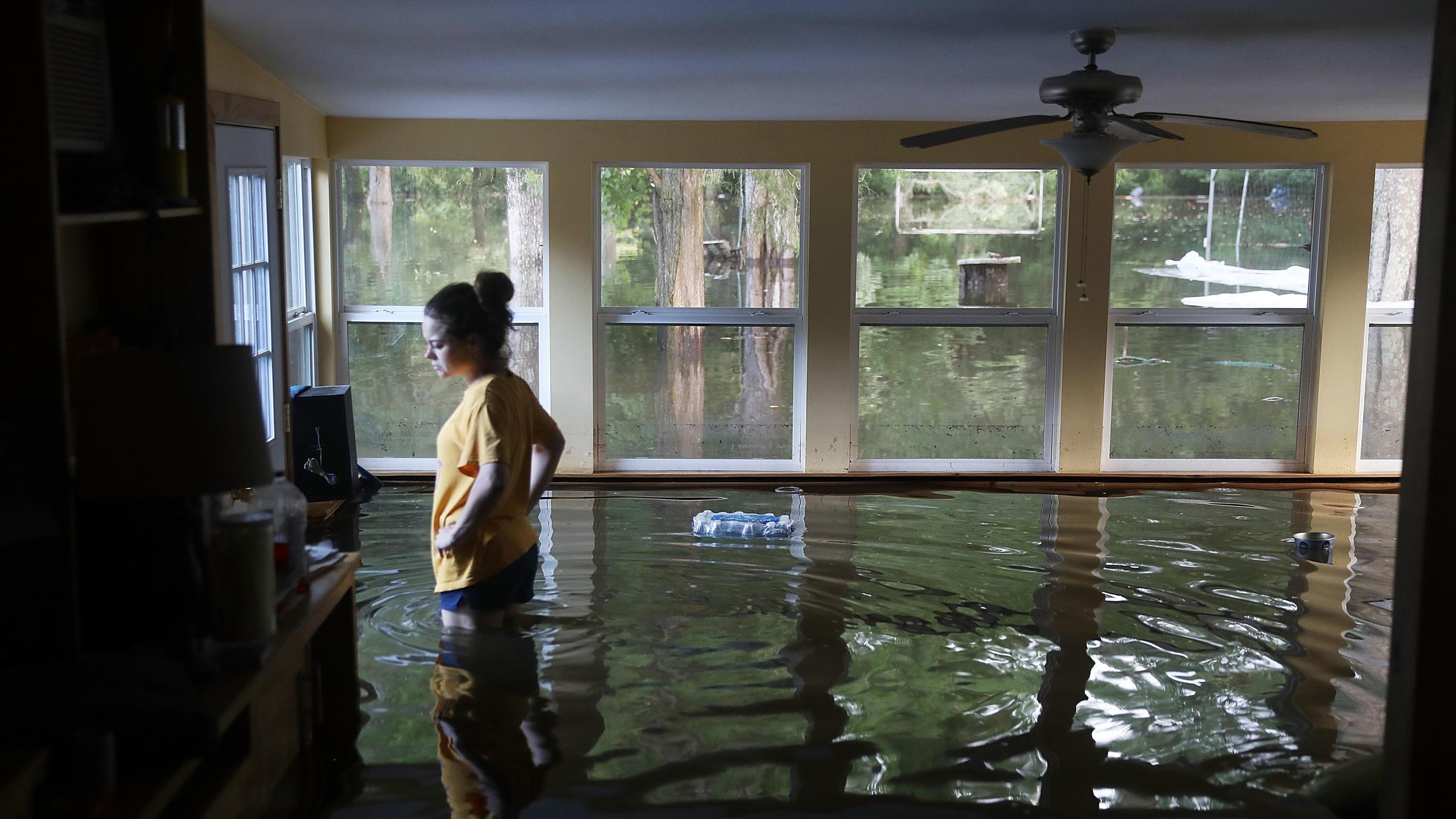 Steckelberg Heads South As Flooding Hits Louisiana