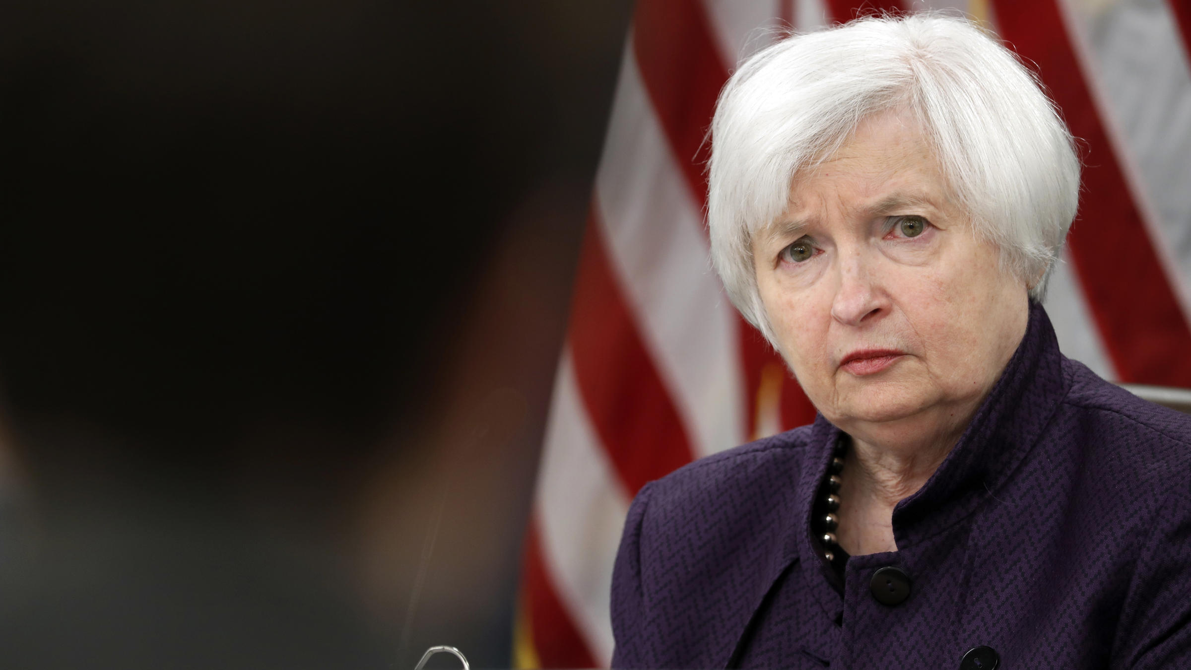 ... interest rate steady, she still expects it to raise the rate this year