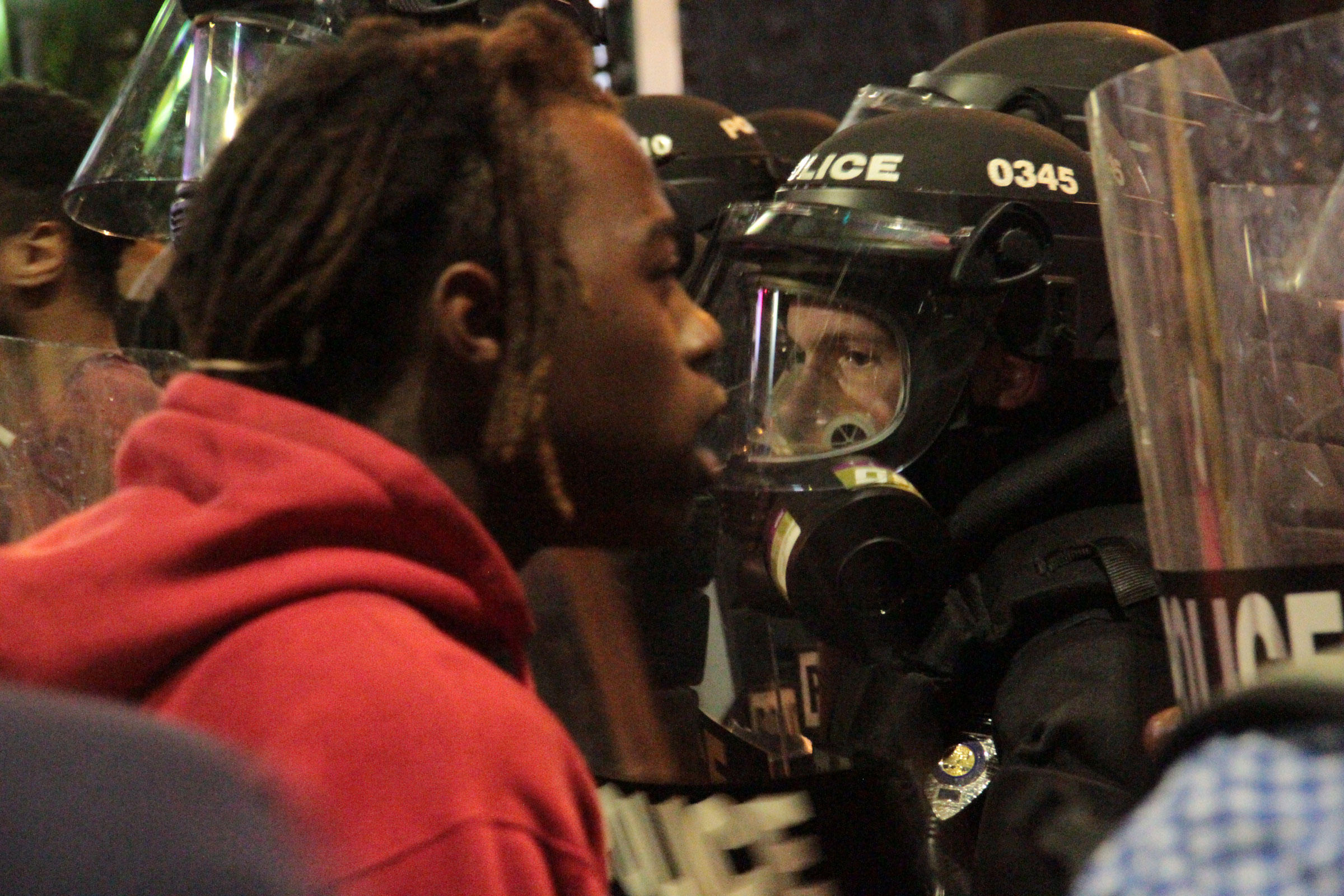 Violence continues in Charlotte after police shooting of black man