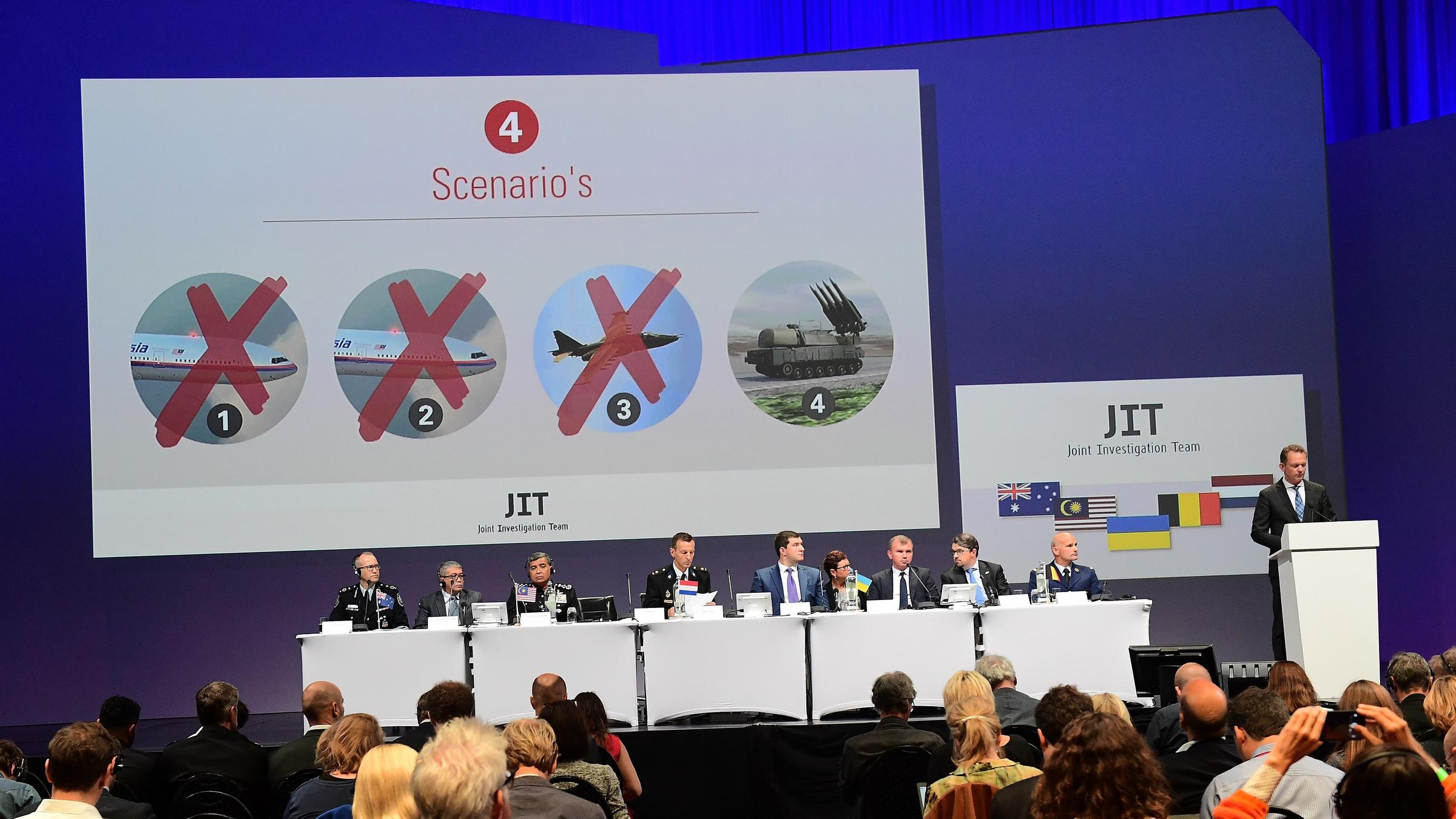 Russia military call into question objectivity of MH17 crash probe