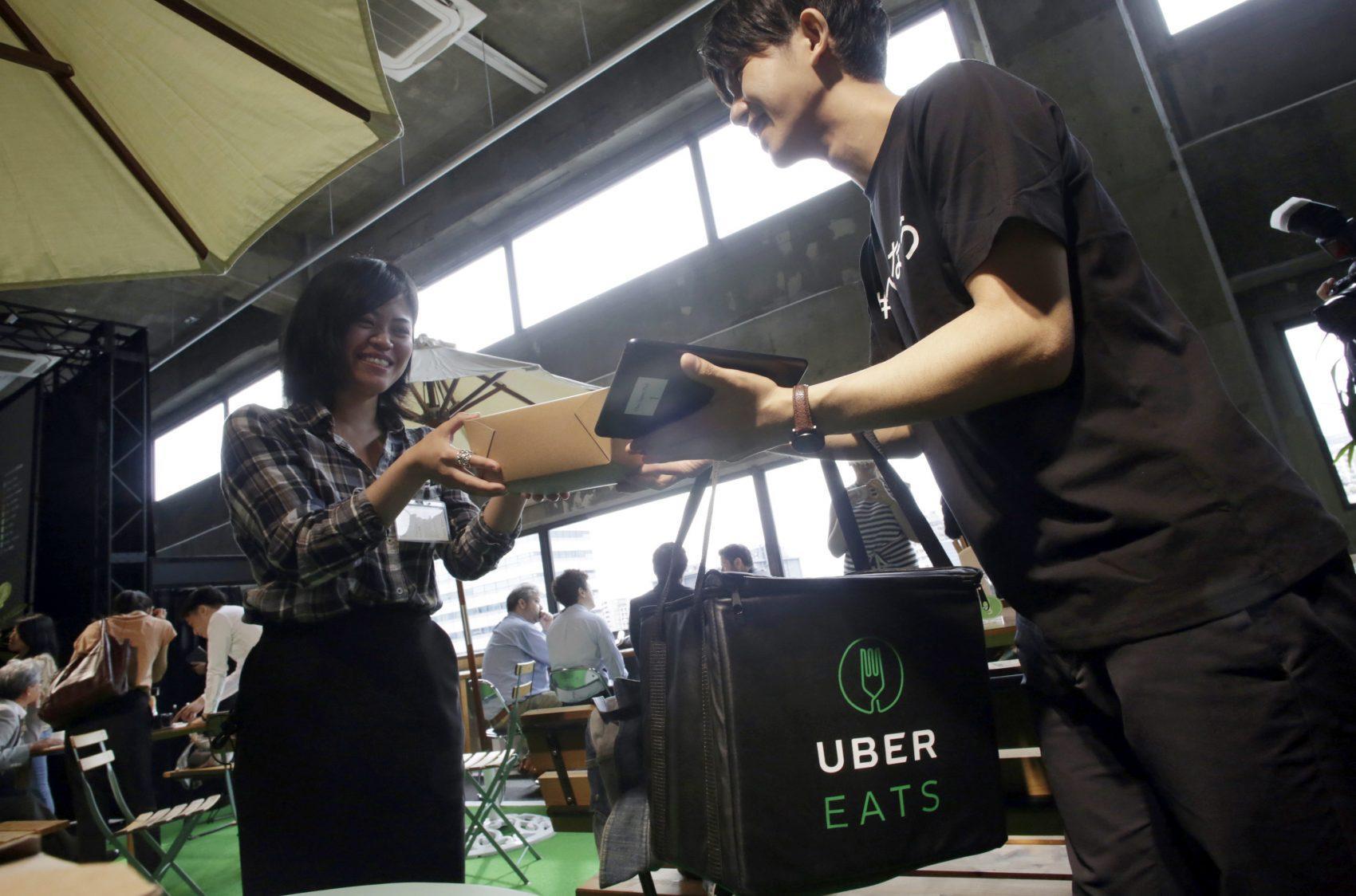 Uber Service That Brings Food