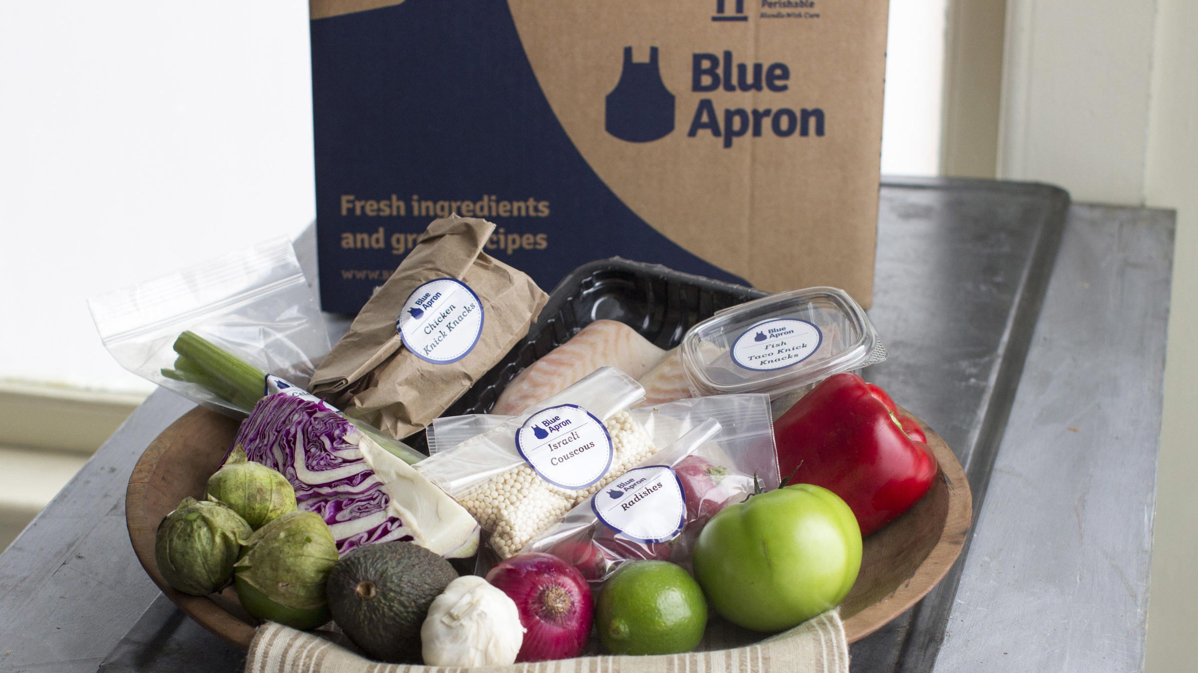 Blue apron seattle - A Home Delivered Meal Kit From Blue Apron