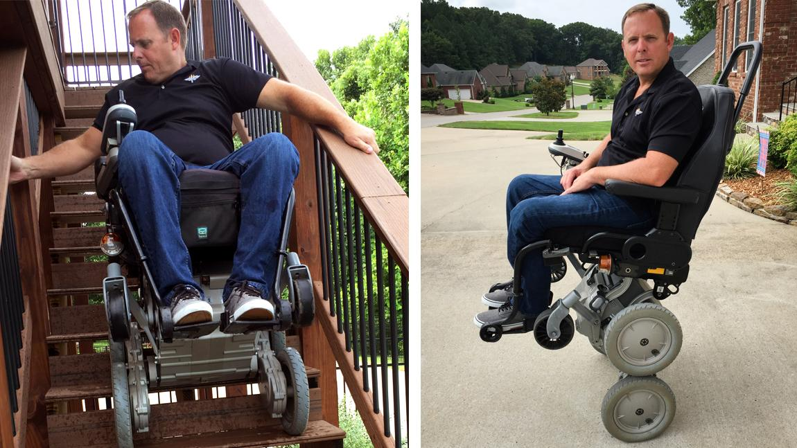 A Reboot For Wheelchair That Can Stand Up And Climb Stairs