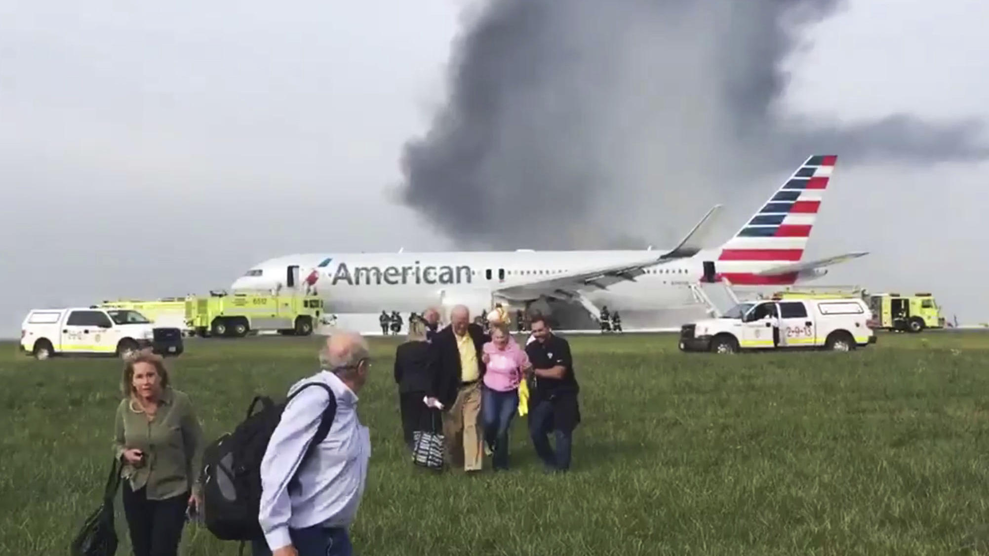 Two US planes suffer engine fires in separate incidents on same day