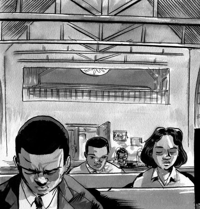"a comprehensive analysis of march a graphic novel by john lewis Congressman john lewis, author andrew aydin, and artist nate powell talk to teen vogue about ""march,"" the graphic novel about lewis and his activism."