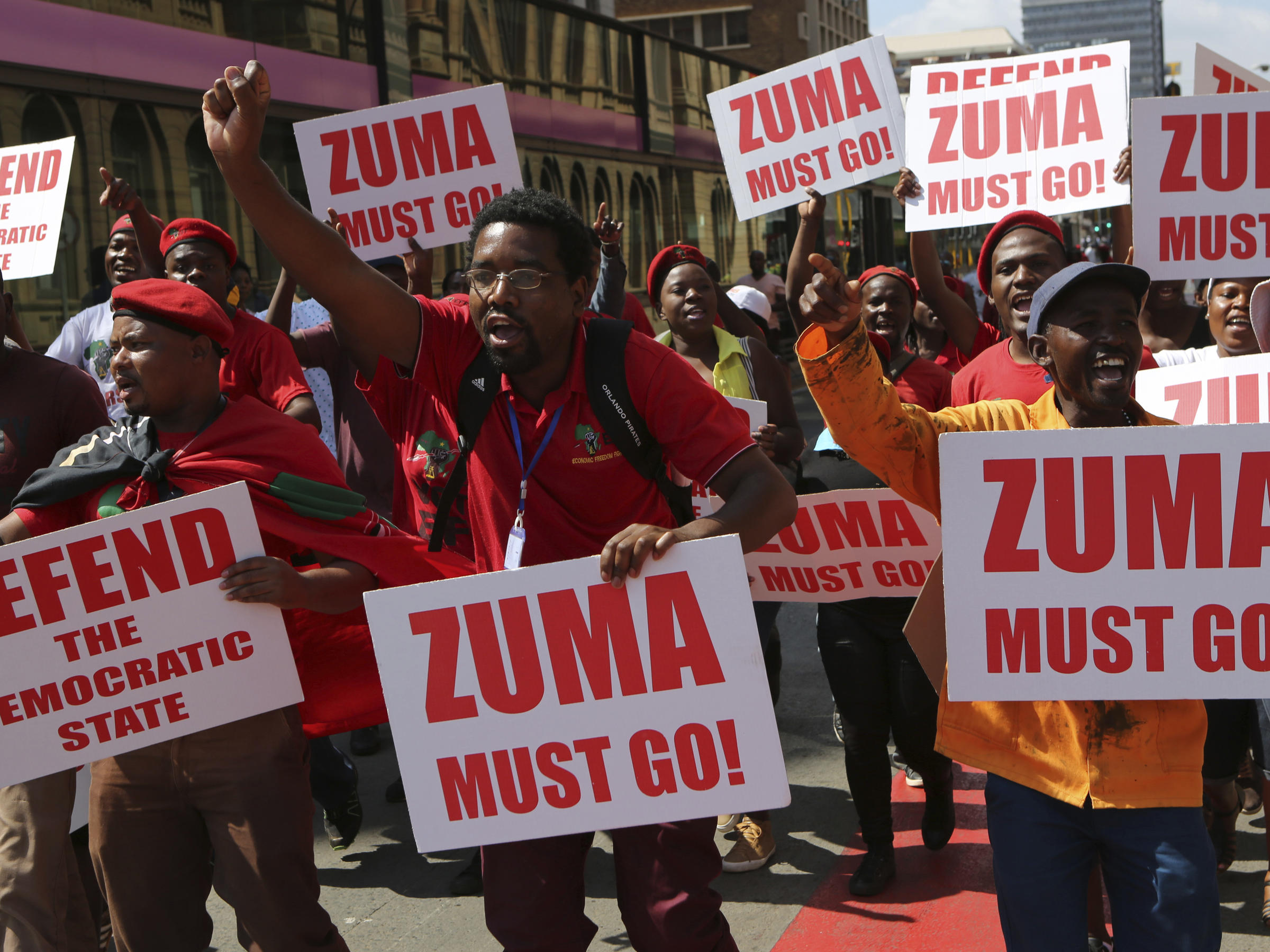 South Africa watchdog calls for probe on influence peddling in Zuma's govt