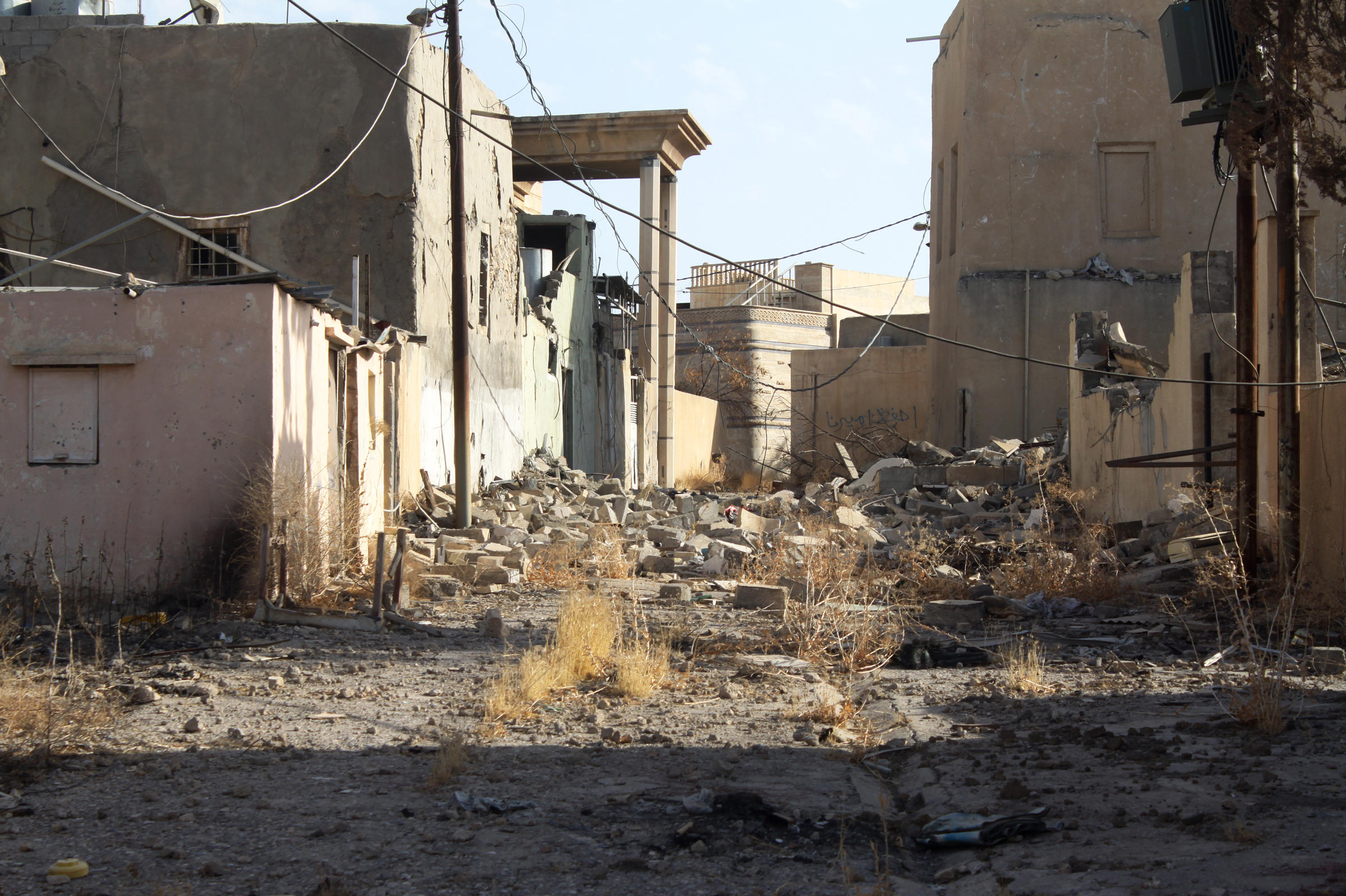 Iraqi forces capture Nimrud area