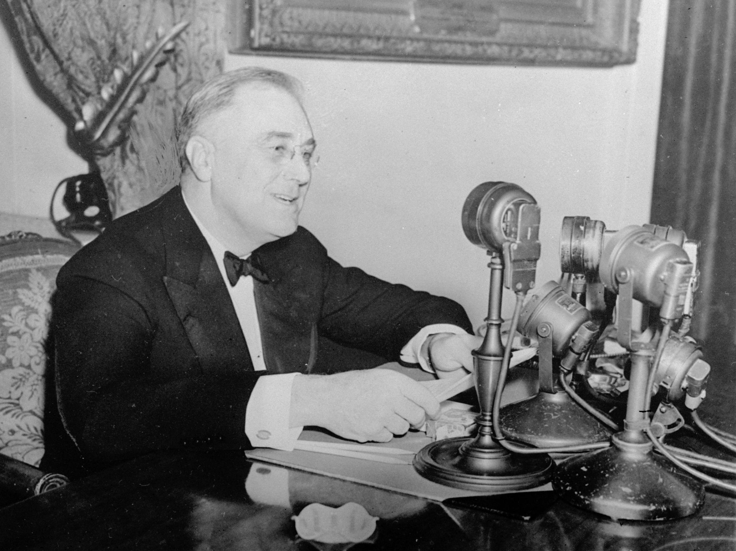 franklin chat Full text and audio mp3 of franklin delano roosevelt speech - first fireside chat.