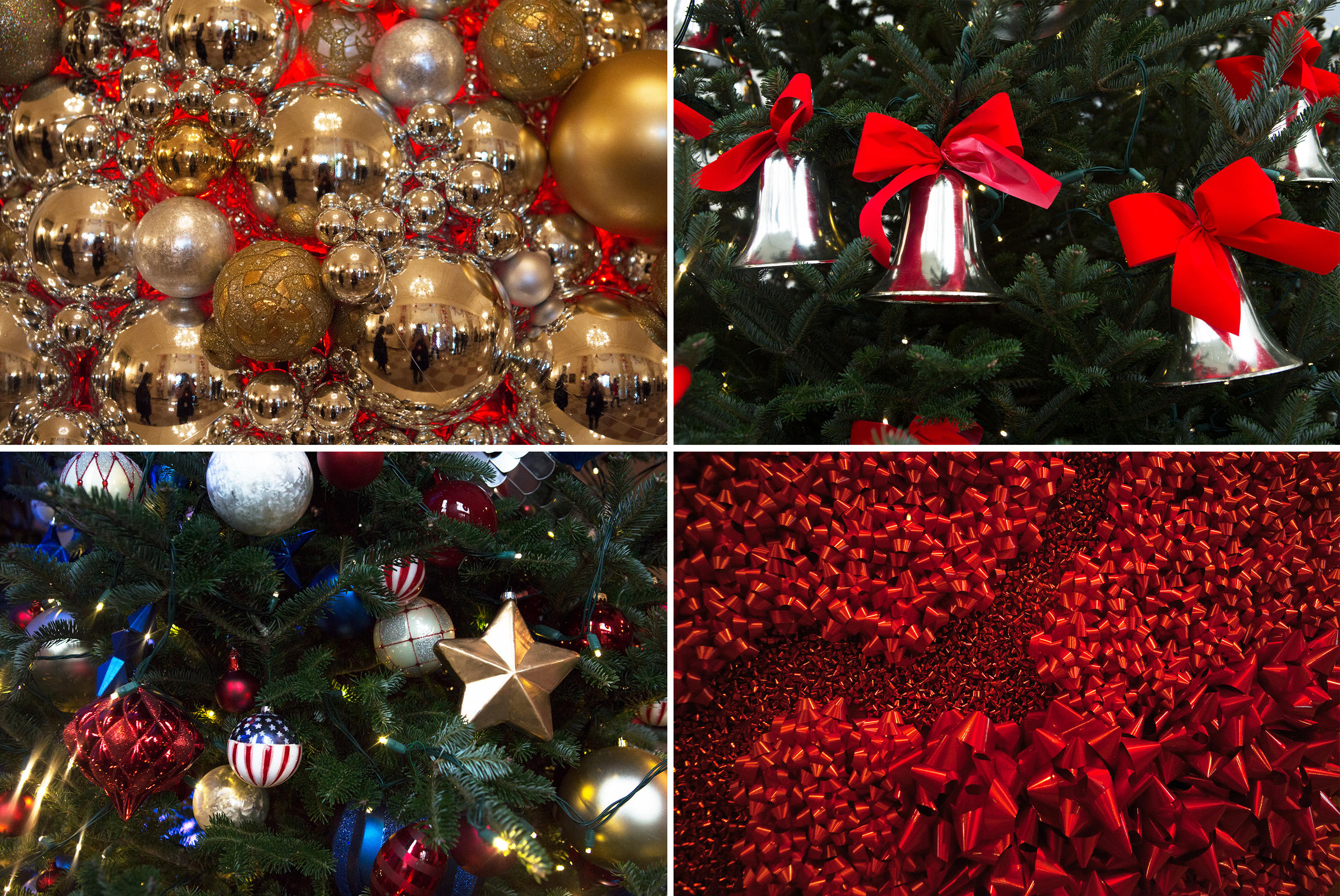 White house christmas ornaments by year - Most Of The Decoration Designs This Year Use Repurposed Ornaments And Embellishments That Were Already Part Of The White House Holiday Inventory
