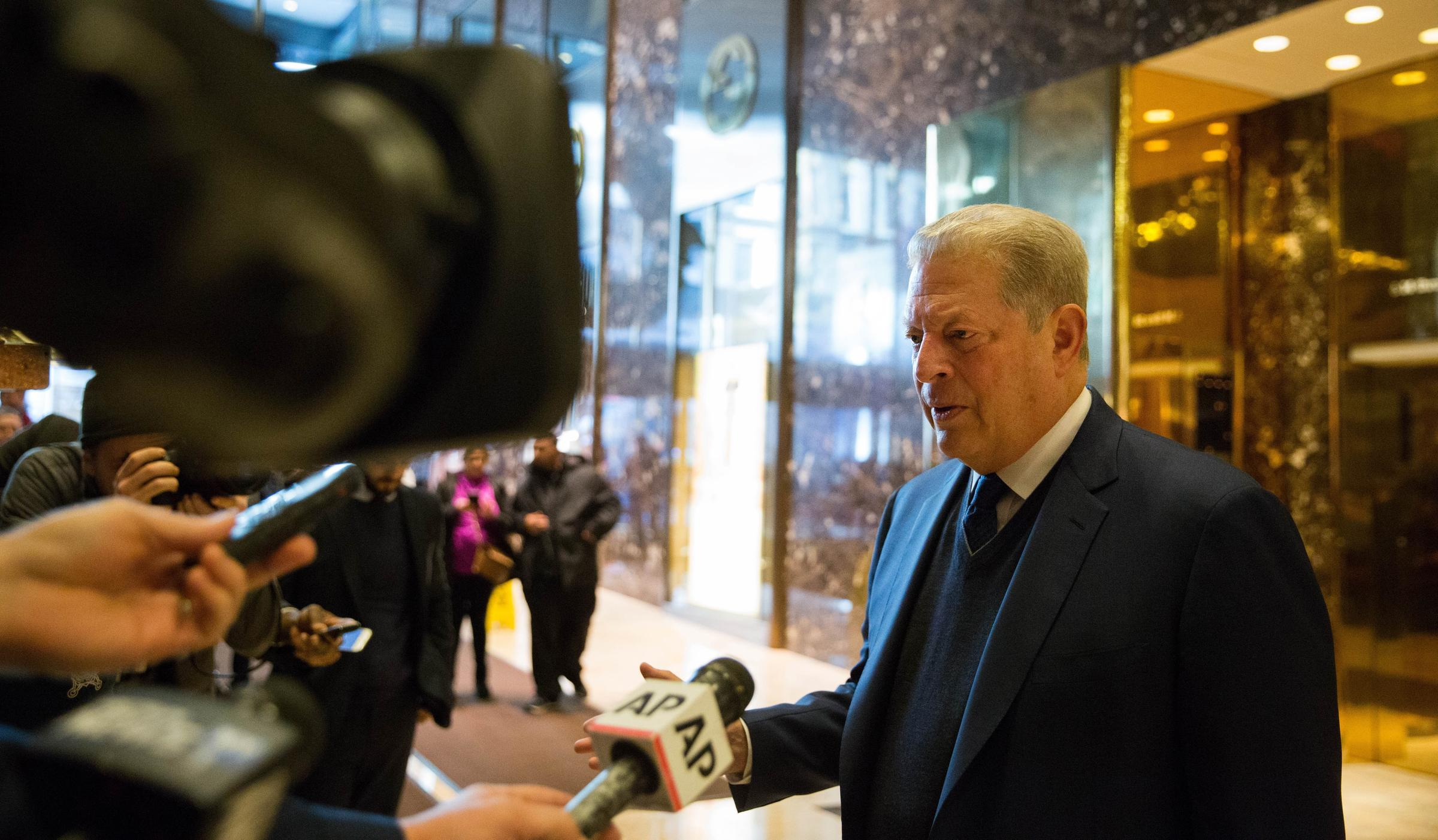 gore meets with donald ivanka trump search common ground