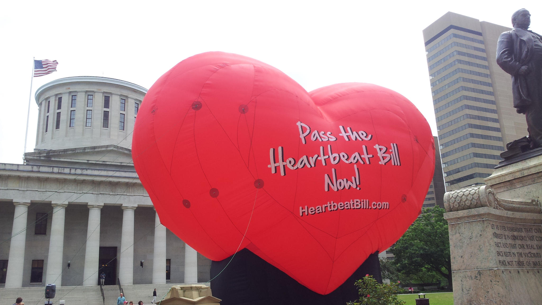 Encouraged by Trump's Election, Ohio Lawmakers Pass 'Heartbeat' Abortion Bill