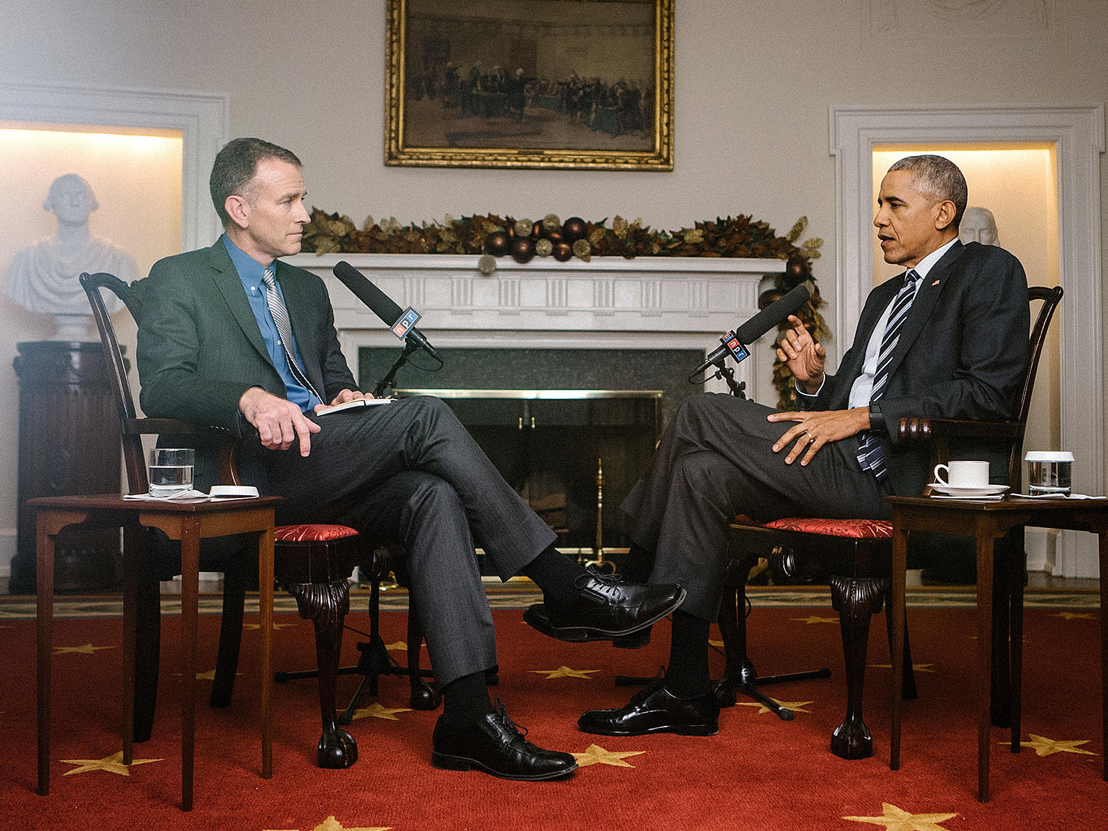 Transcript And Video: NPR\'s Exit Interview With President Obama   WLRN