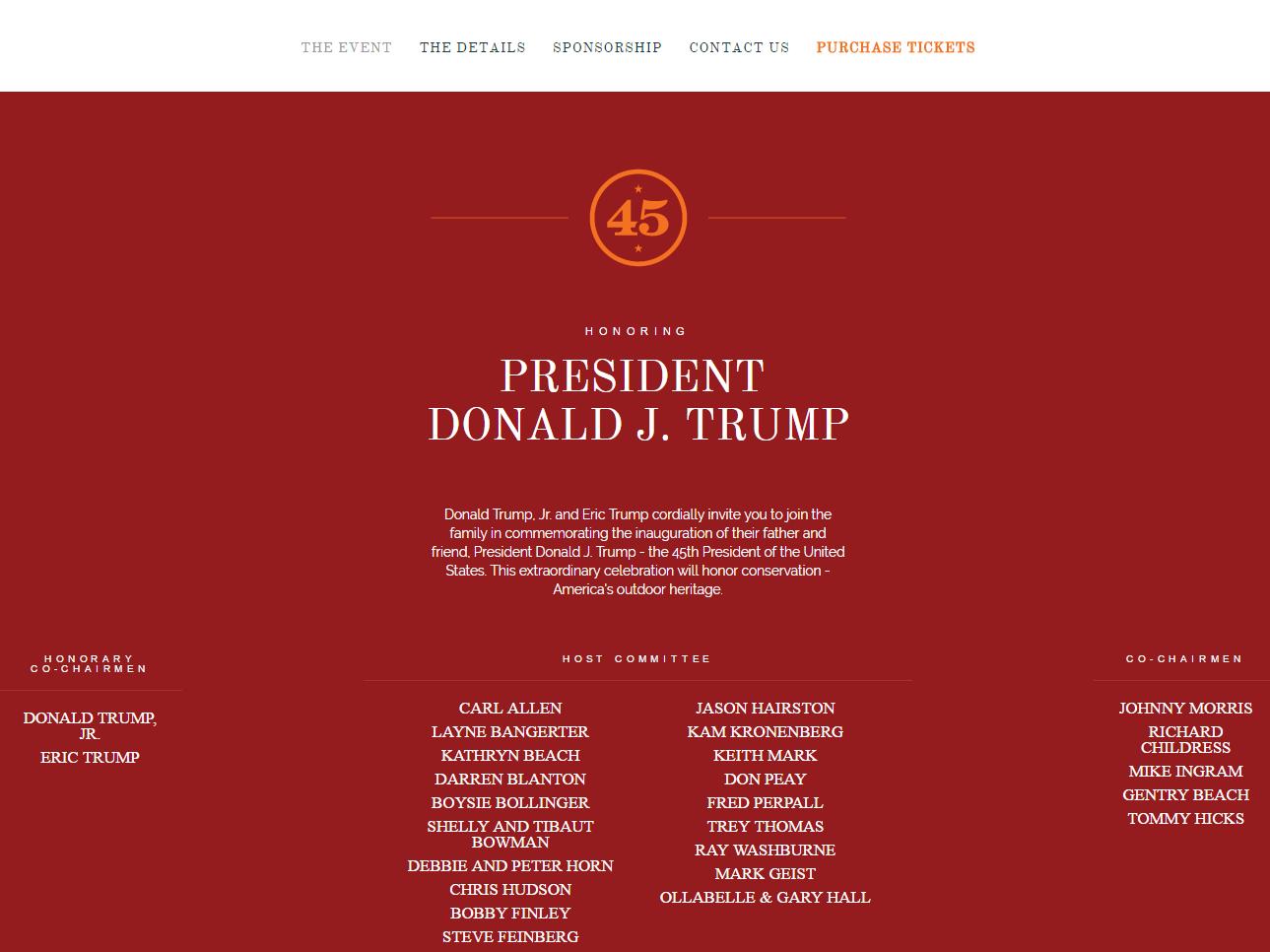 Proposed Fundraiser Featuring Trump's Sons Raises ...