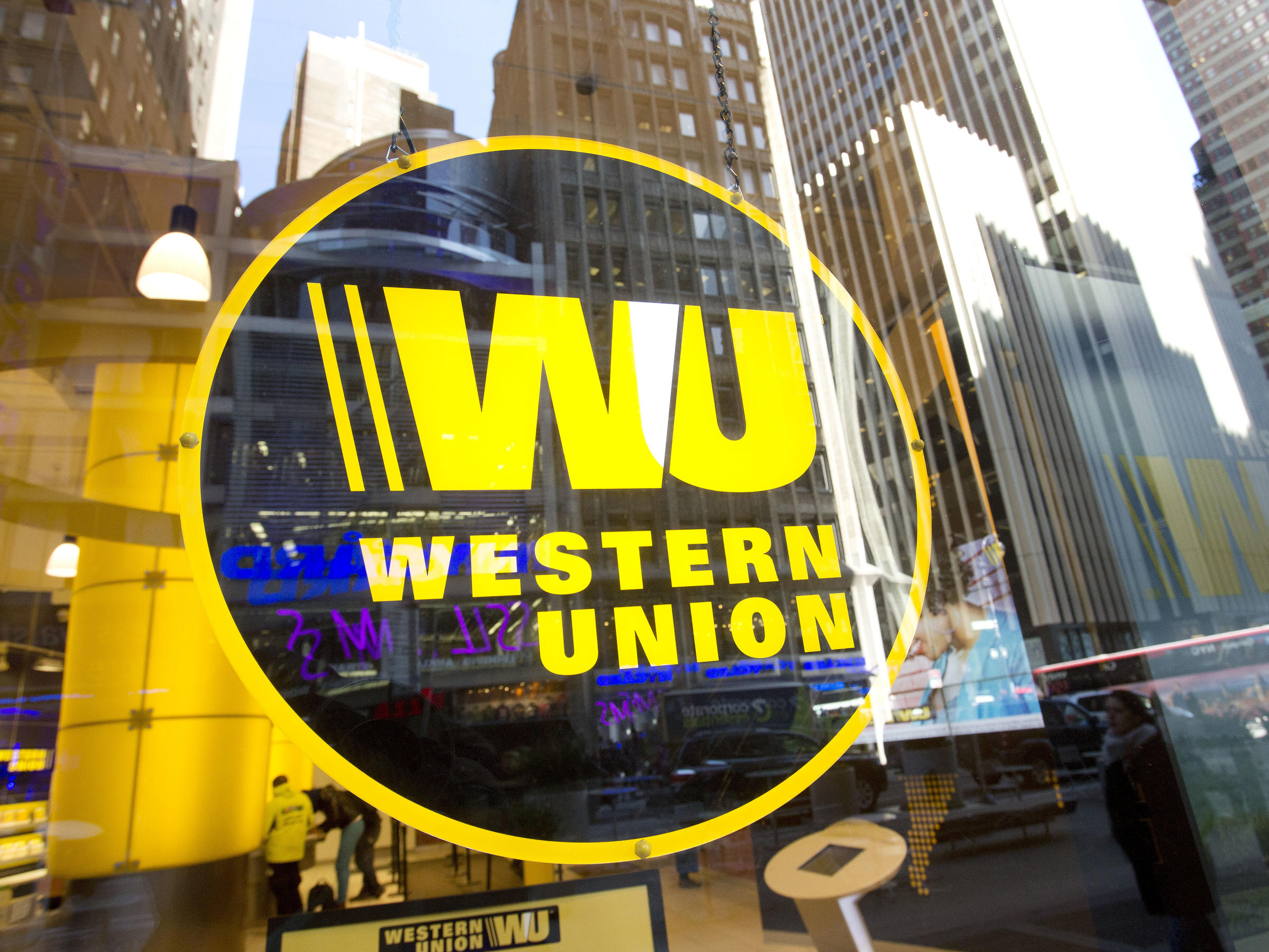 western union will pay 586 million for aiding in wire fraud other violations kuow news and. Black Bedroom Furniture Sets. Home Design Ideas