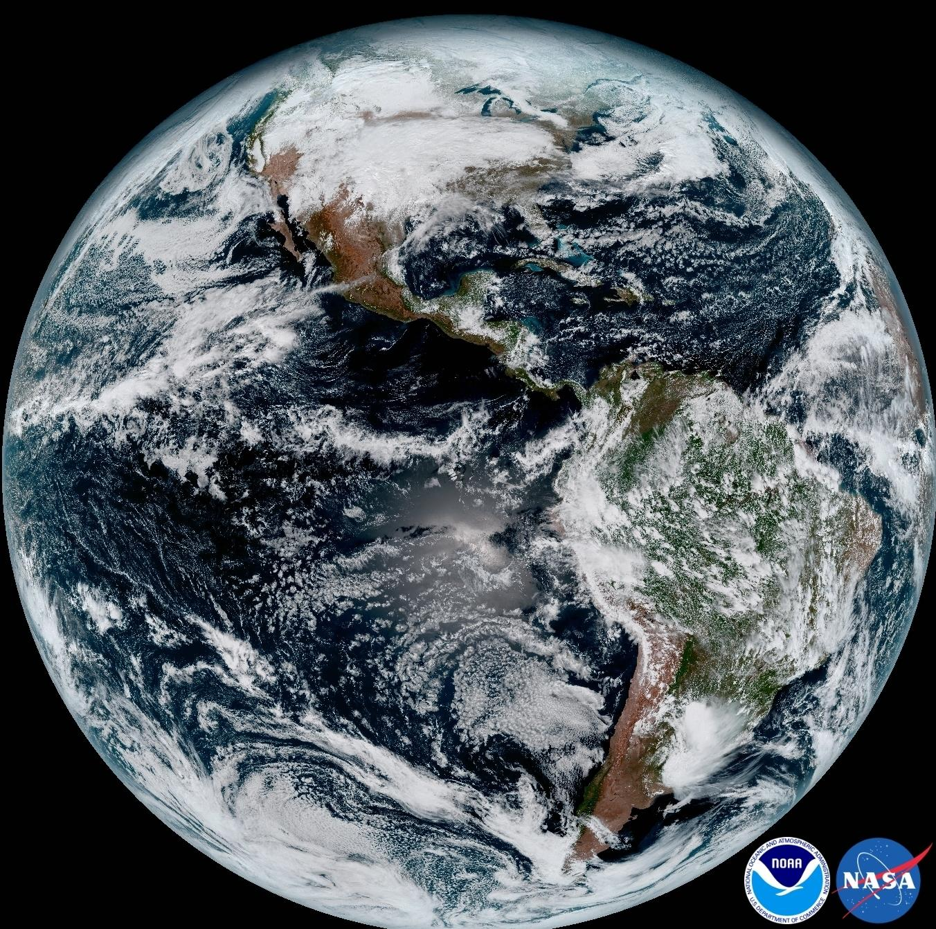 NOAA Releases First GOES 16 Image