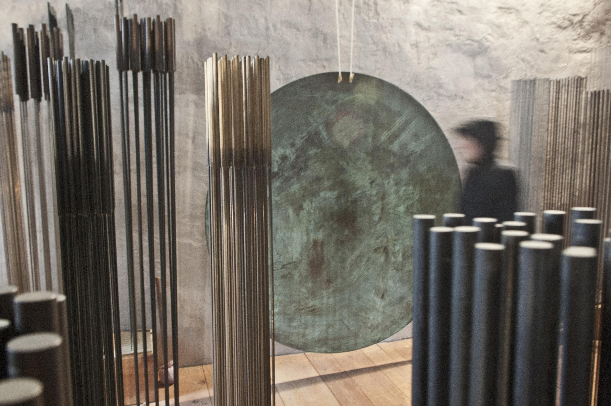 Sound sculptor harry bertoia created musical meditative