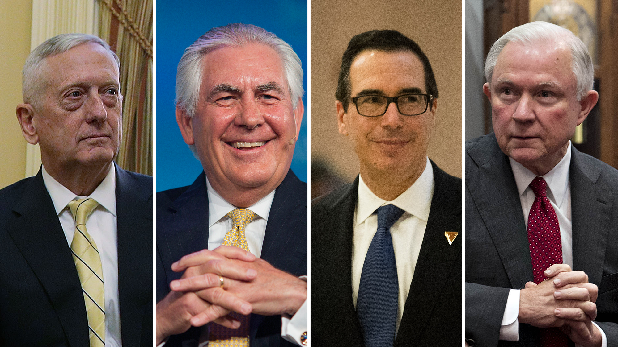How The Donald Trump Cabinet Stacks Up, In 3 Charts | Georgia ...