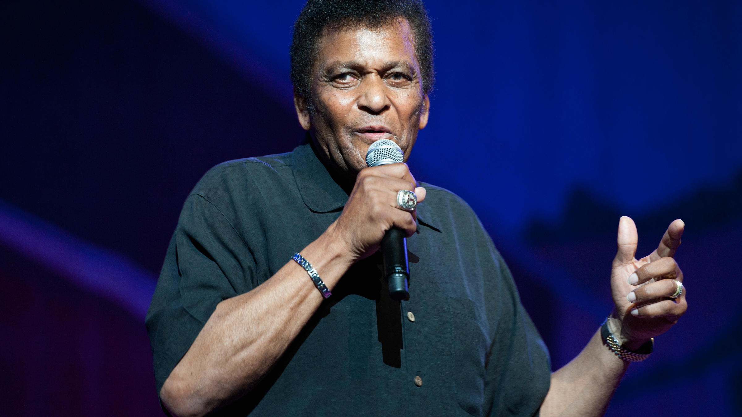 Charlie Pride Hits Ele you look like them and sound like us': charley pride's long