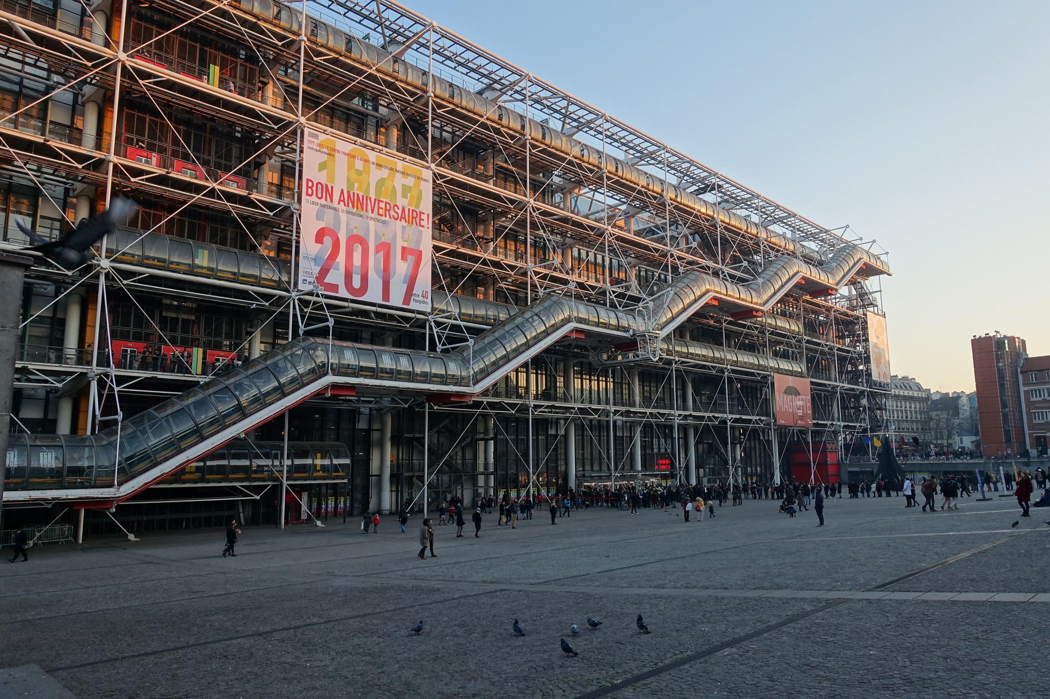 at paris pompidou center is still an unexpected trip kosu the pompidou center whose provocative design horrified critics 40 years ago in paris is now a beloved destination for french and foreign ors