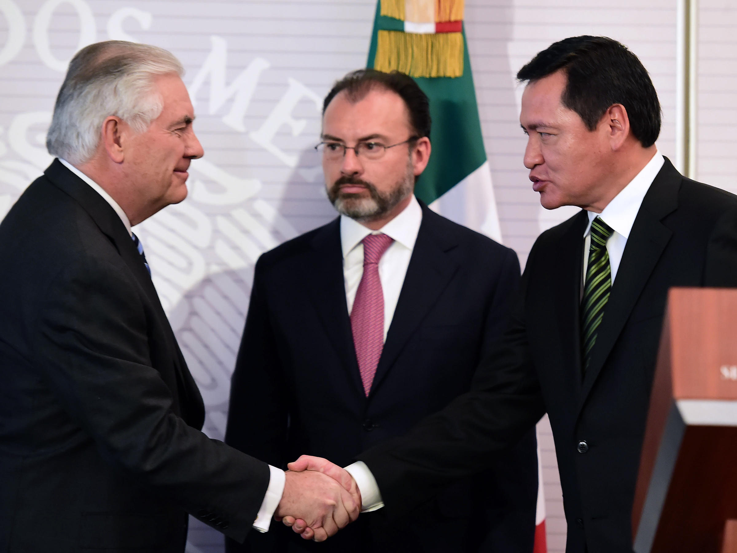 On Tillerson And Kelly Visit Mexico Seeks Clarity On Immigration