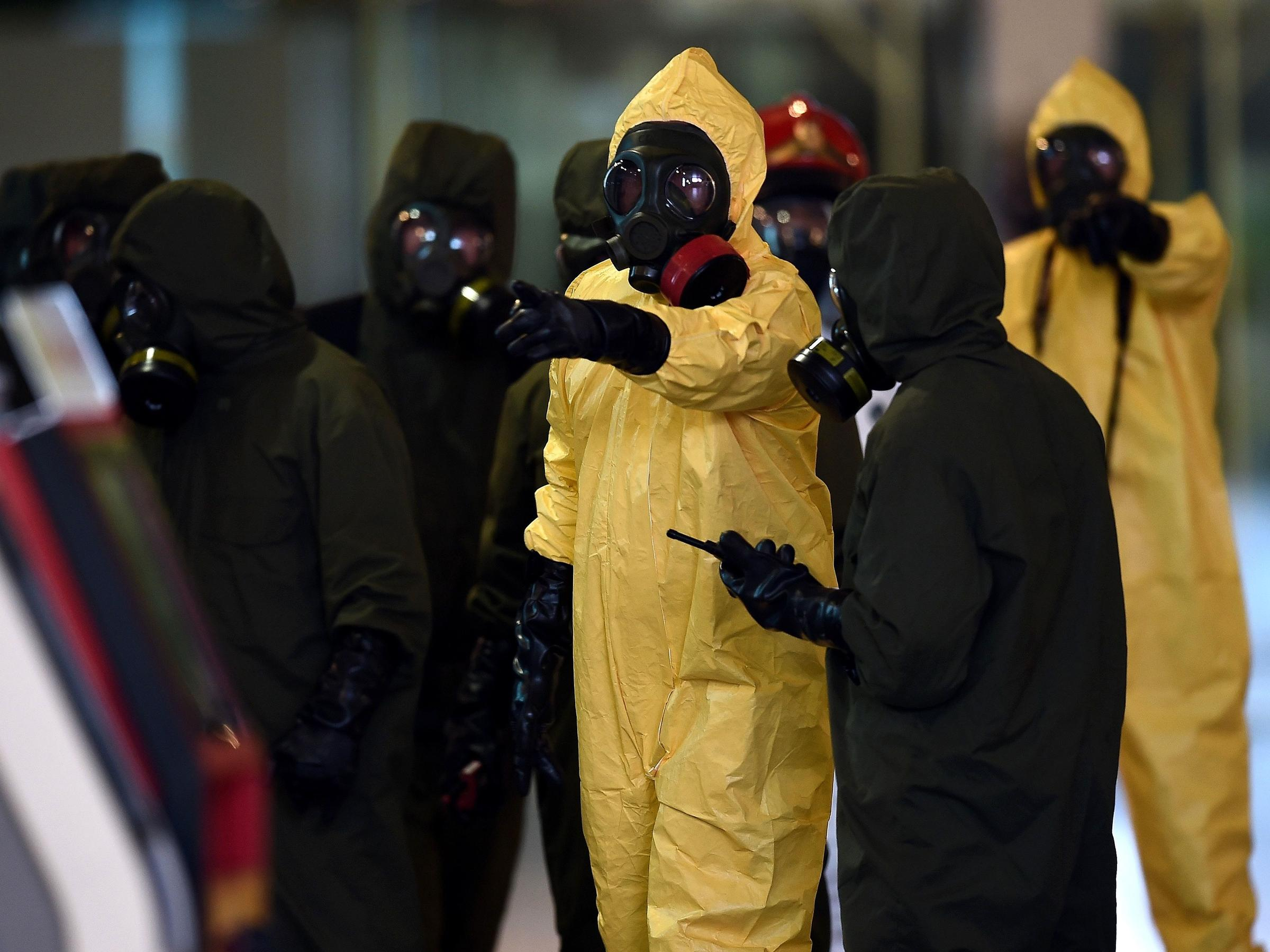 Who produced the VX poison that killed Kim Jong-nam?