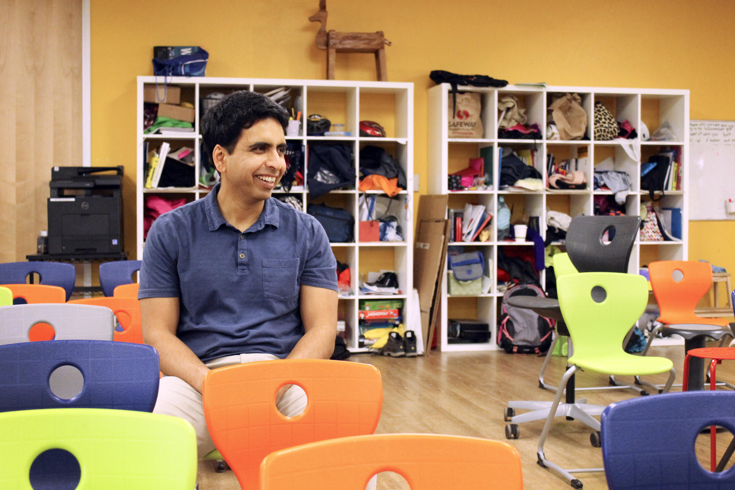 From Pioneer Sal Khan A School With Real Classrooms