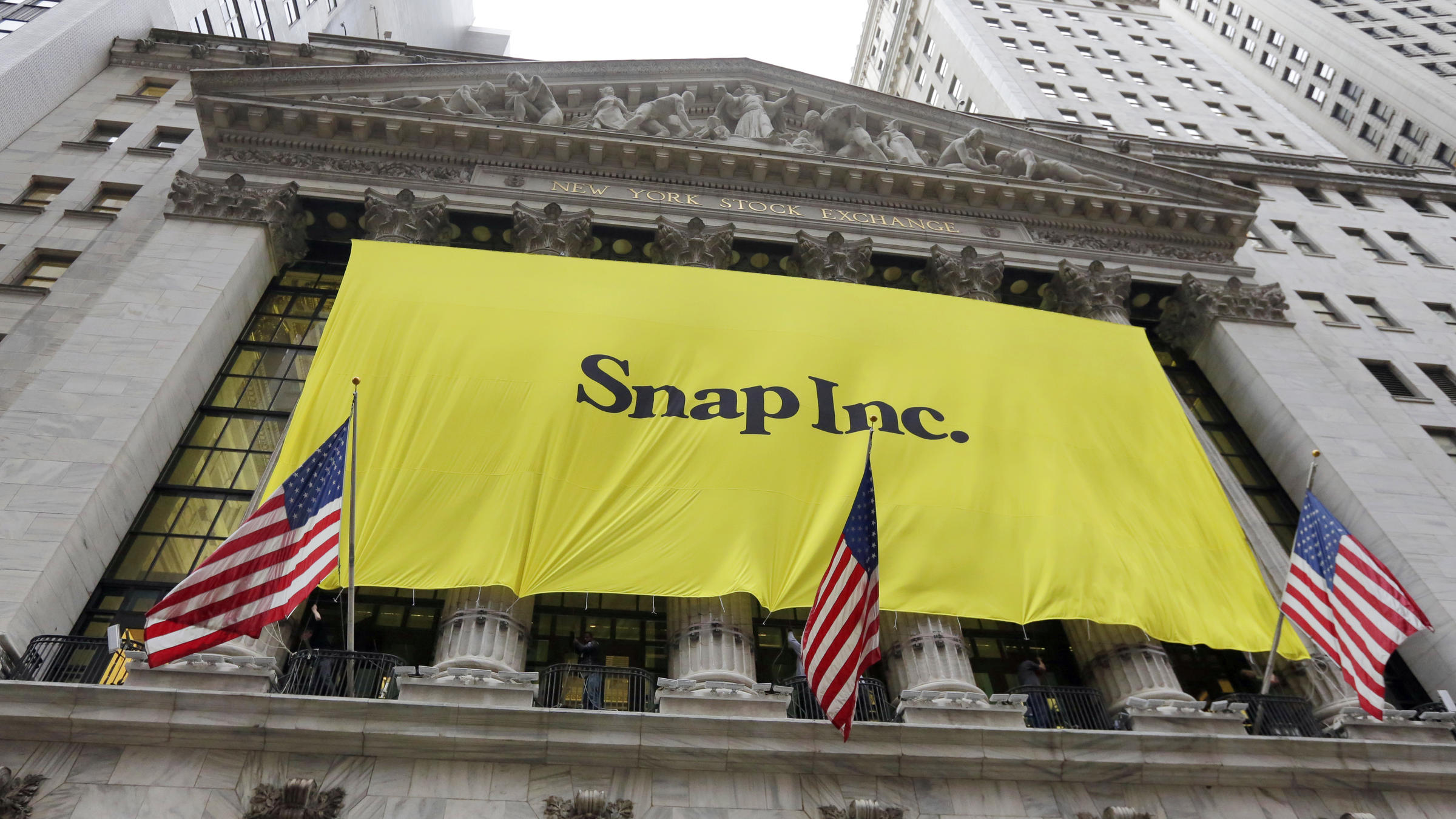 Snapchat Parents Stock Soars By 50 Percent On First Day Of Trading