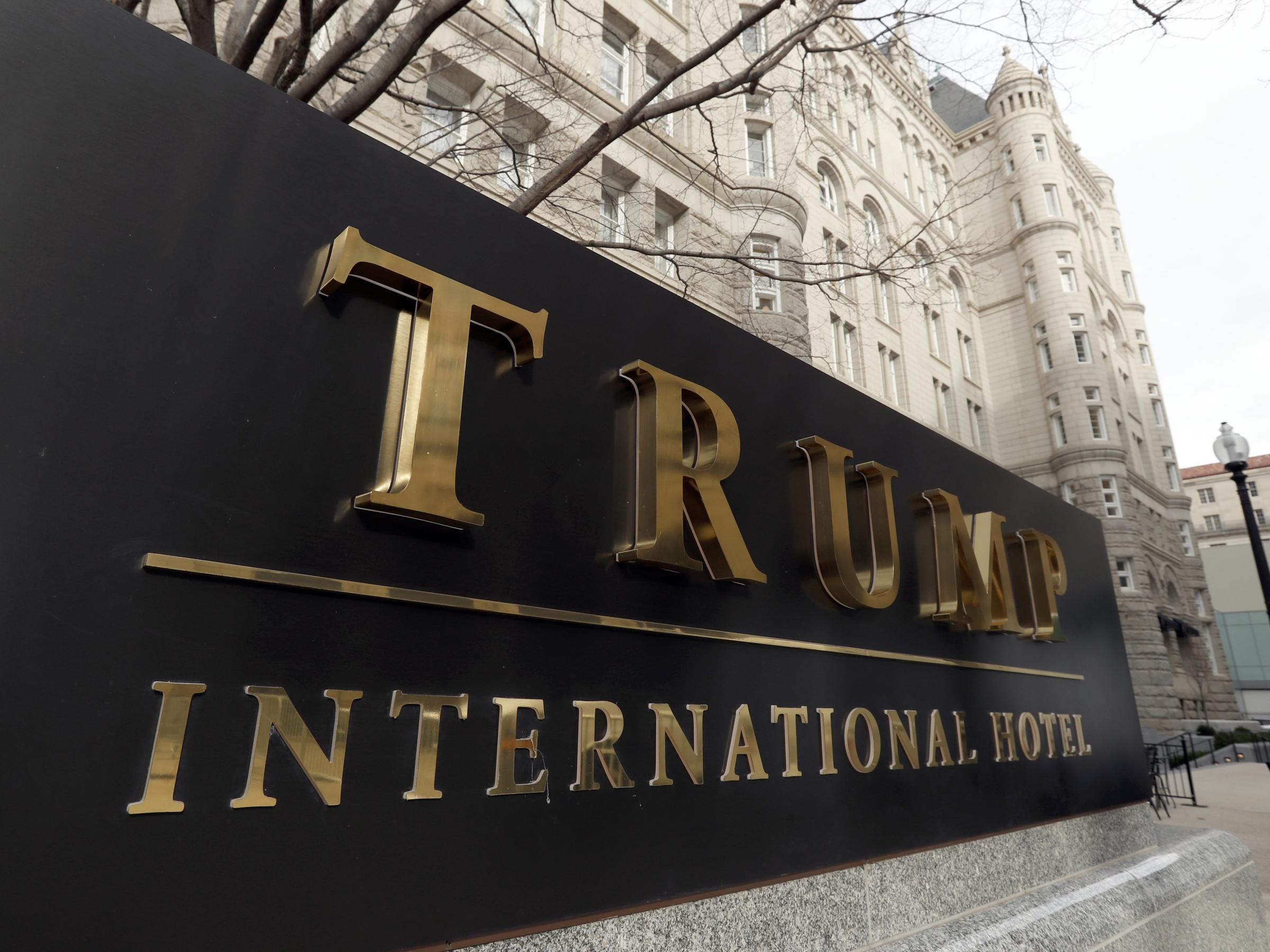 Trump's DC hotel doesn't violate lease, says hotel