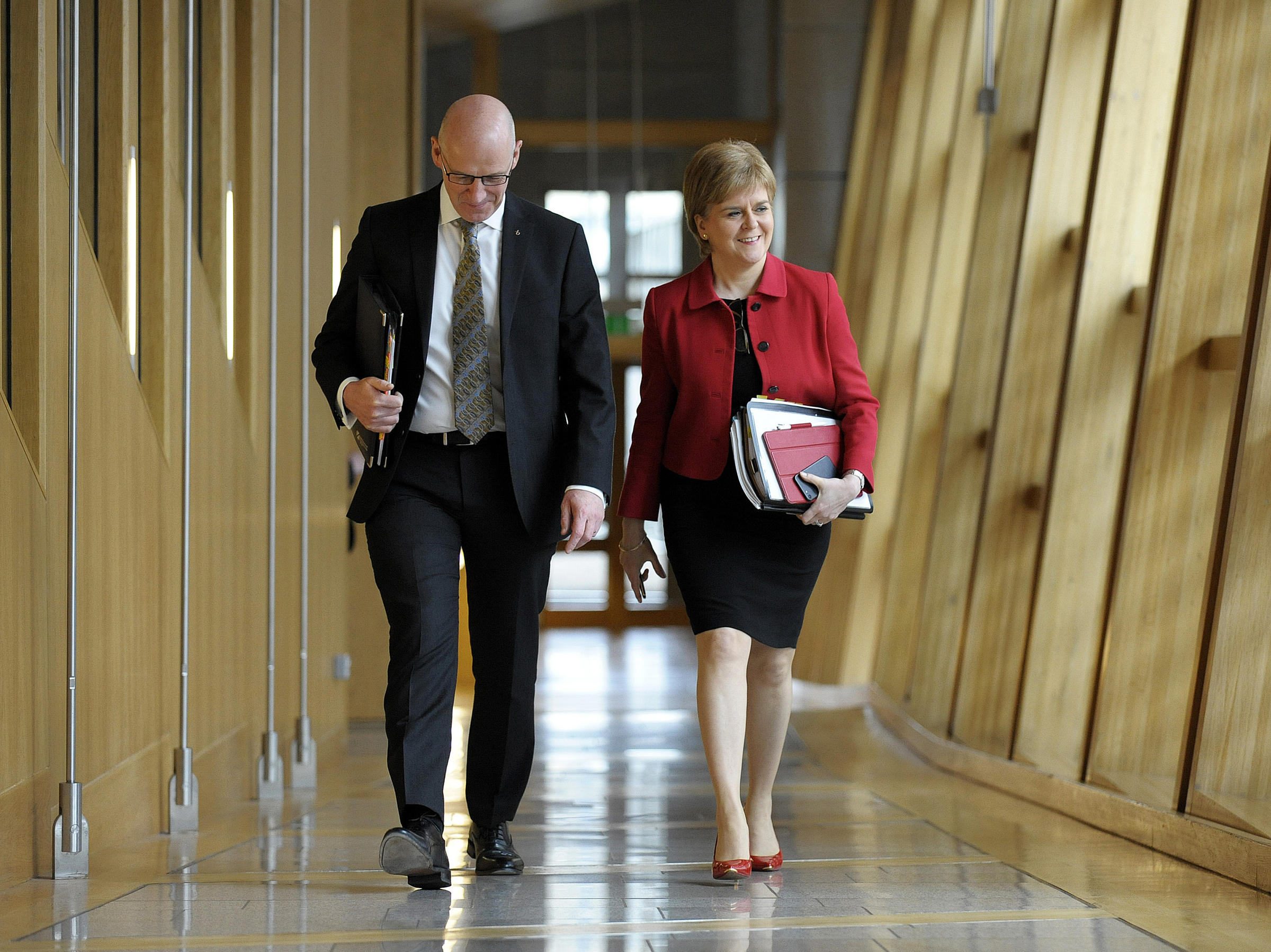 Holyrood backs Nicola Sturgeon's call for second referendum