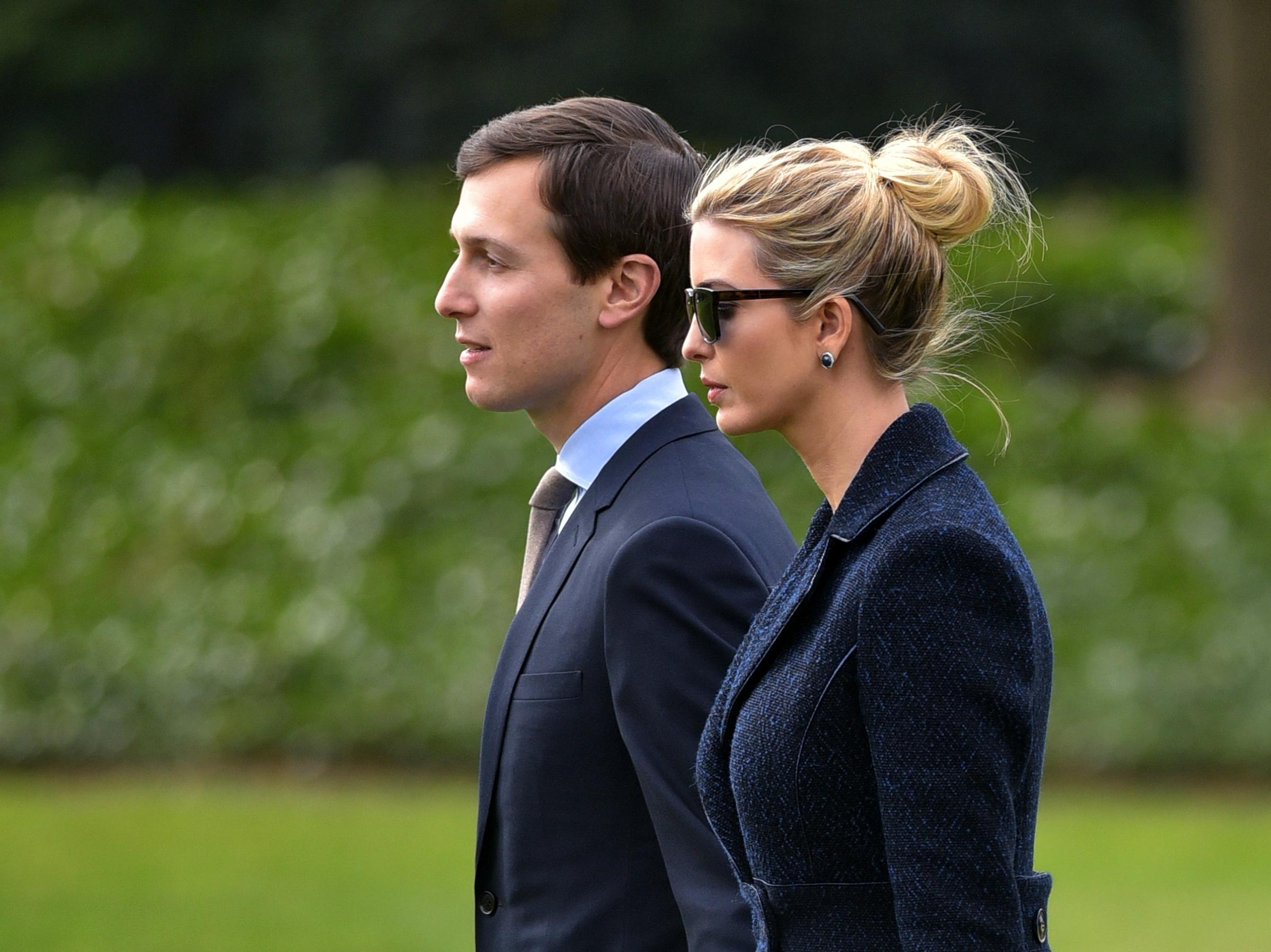 Filings show Ivanka Trump, husband Jared benefiting from business empire