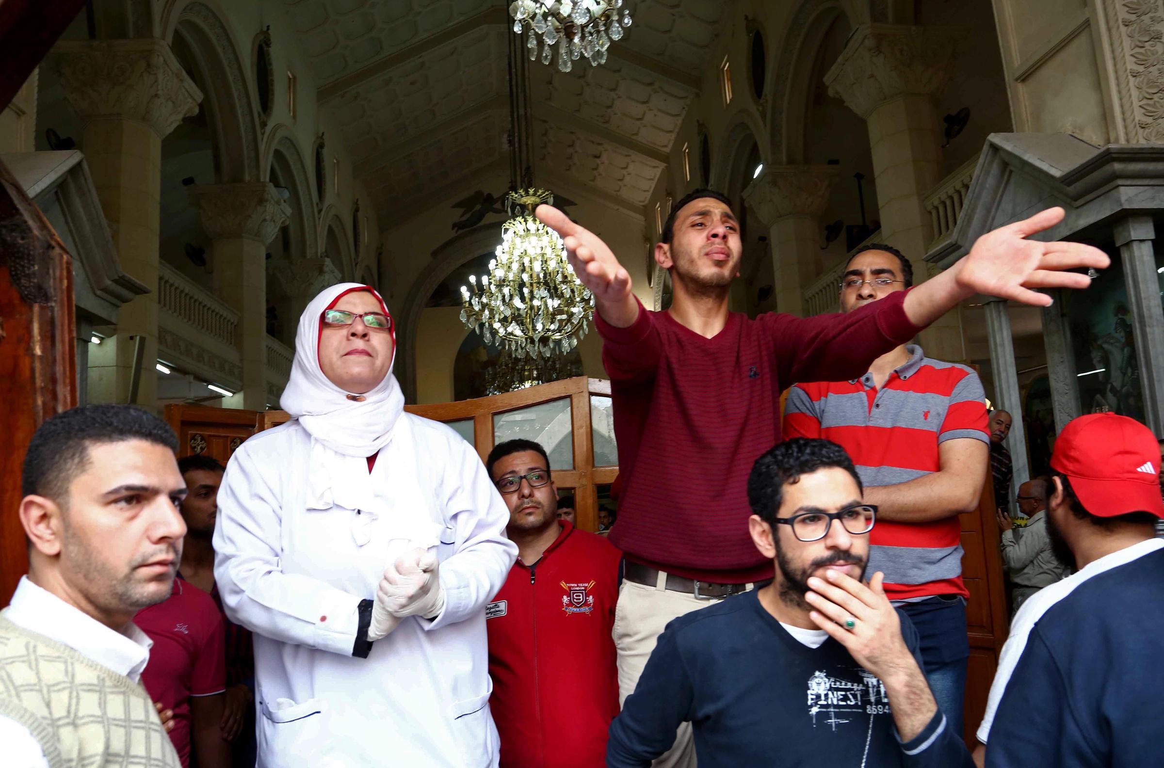 Turkey condemns Egyptian church bombing