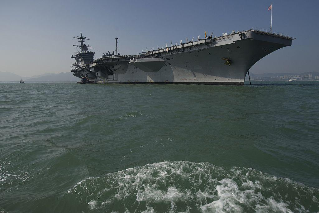 North Korea calls USA aircraft carrier dispatch outrageous