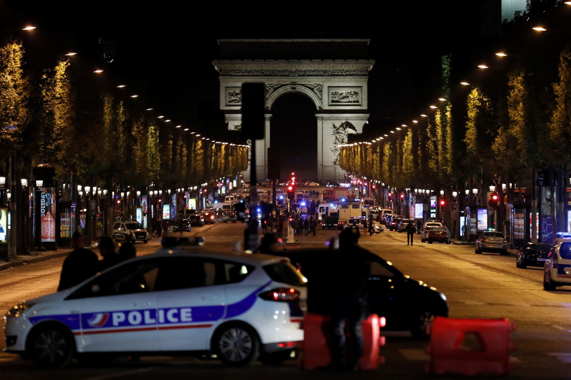 Security forces will be vigilant during election after Paris shooting - French president