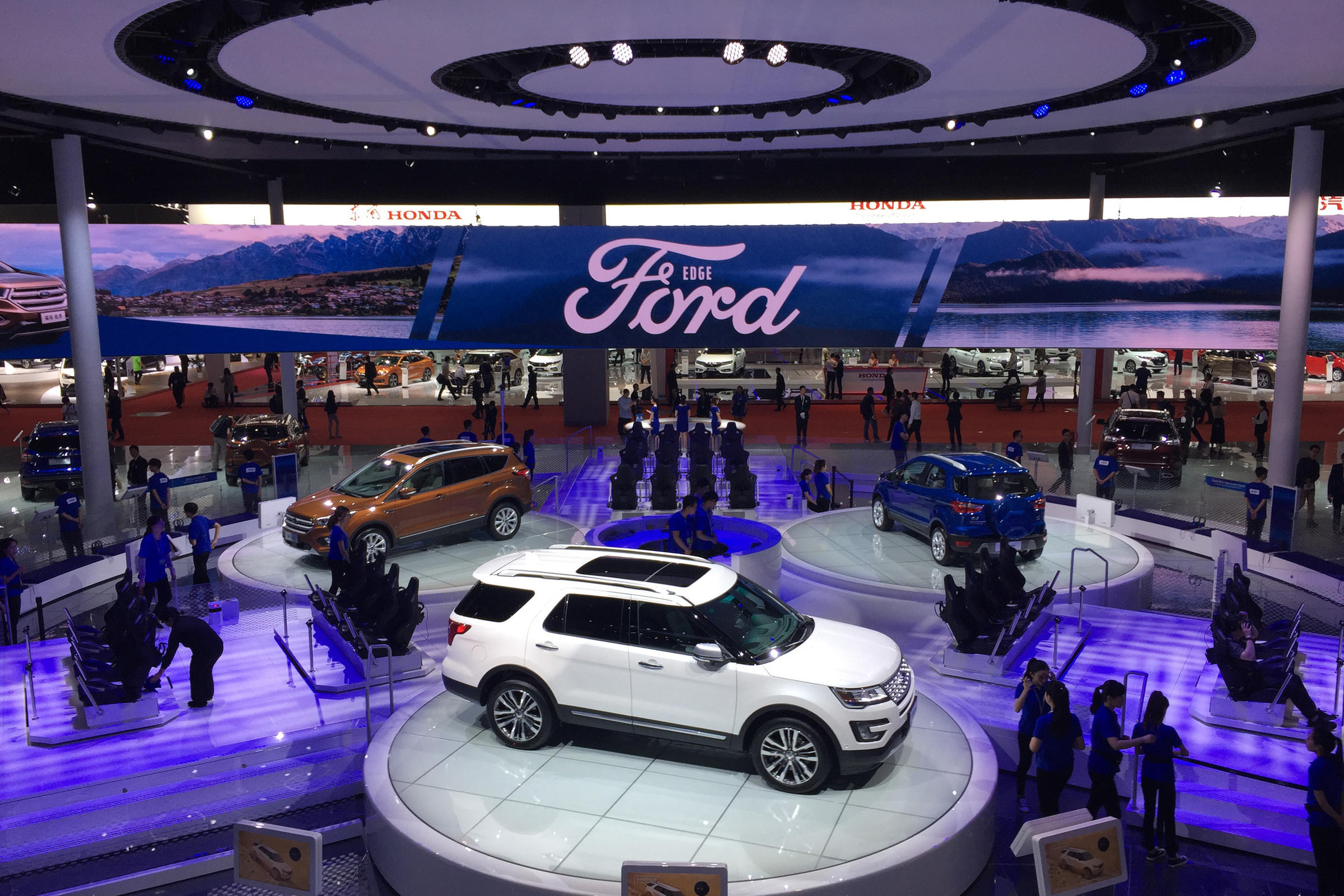 China moves to increase number of electric vehicles on its for Ford motor company charitable giving