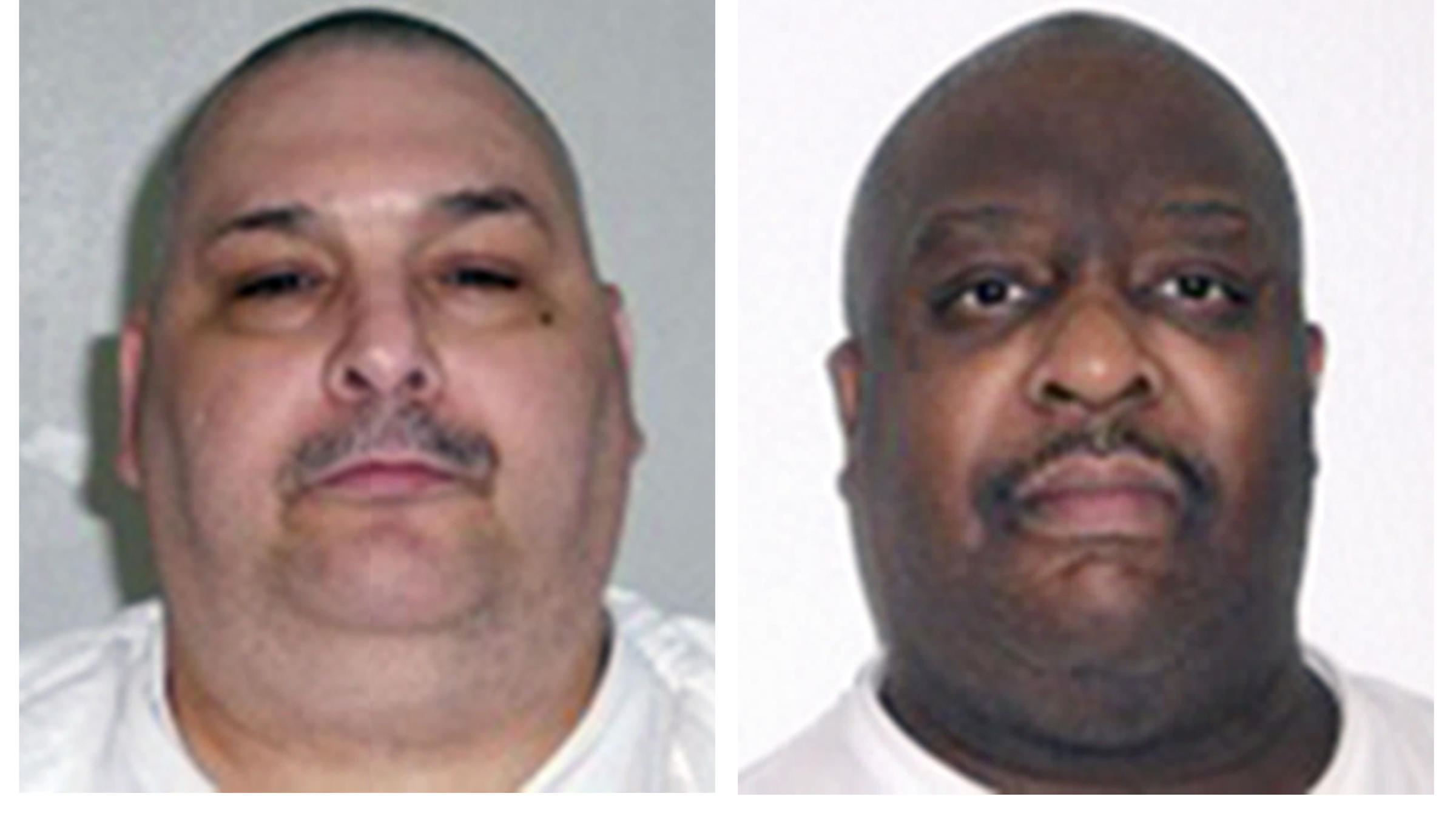 Arkansas executed two men on the same gurney last night