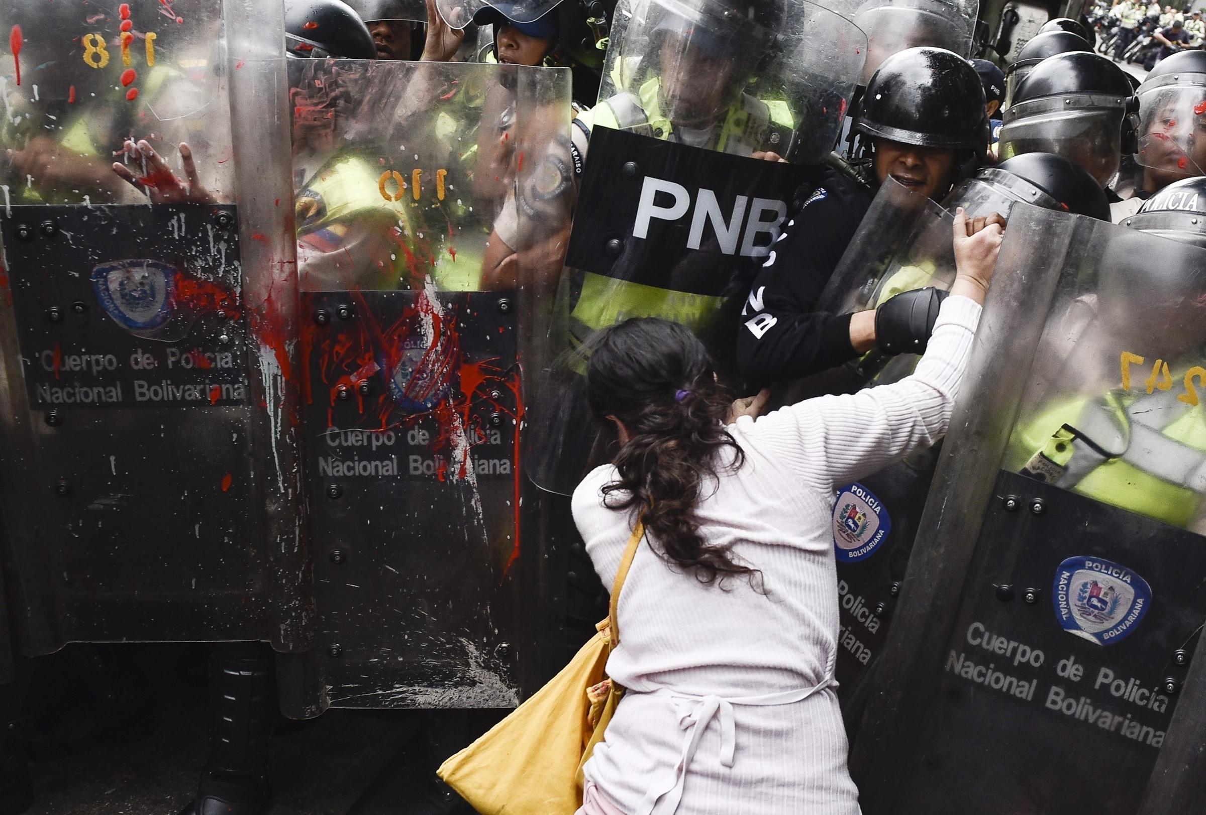 Unrest in Caracas