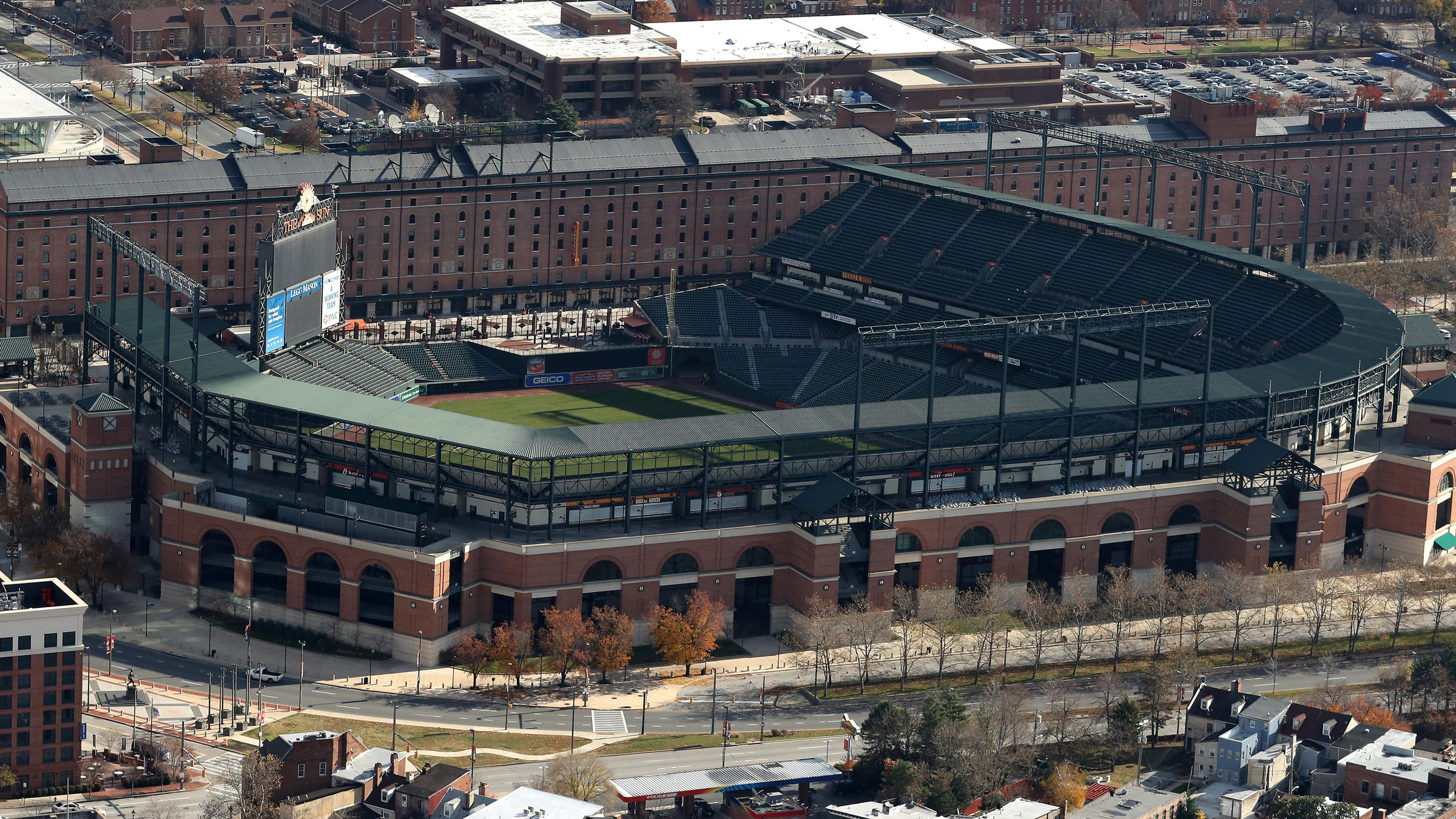Baltimores pro stadiums are rescued from lien sale overdue water the baltimore orioles park at camden yards was mistakenly included in a tax sale city officials say xflitez Choice Image