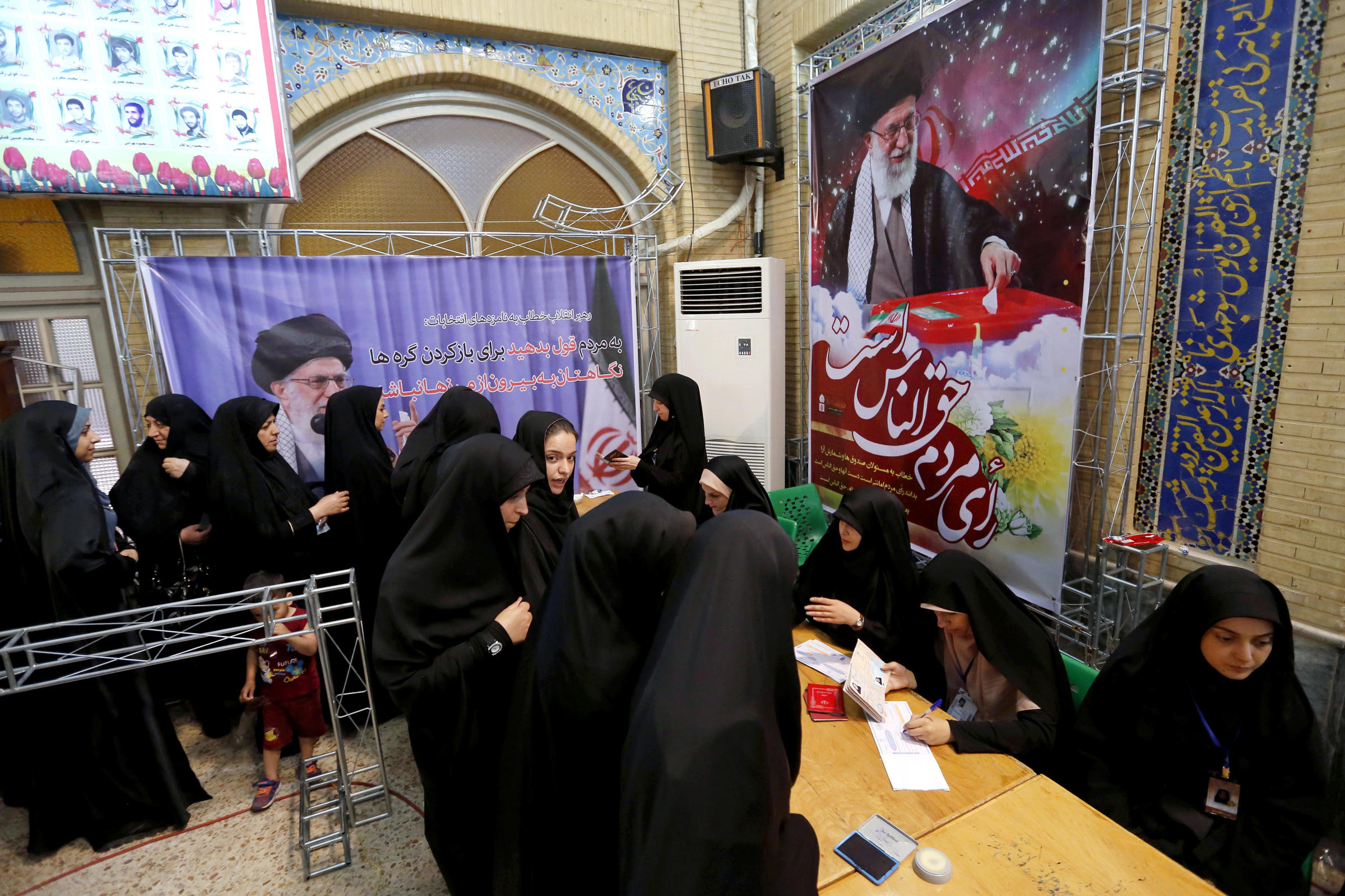 Iran: Voting Hours Extended for the Third Time