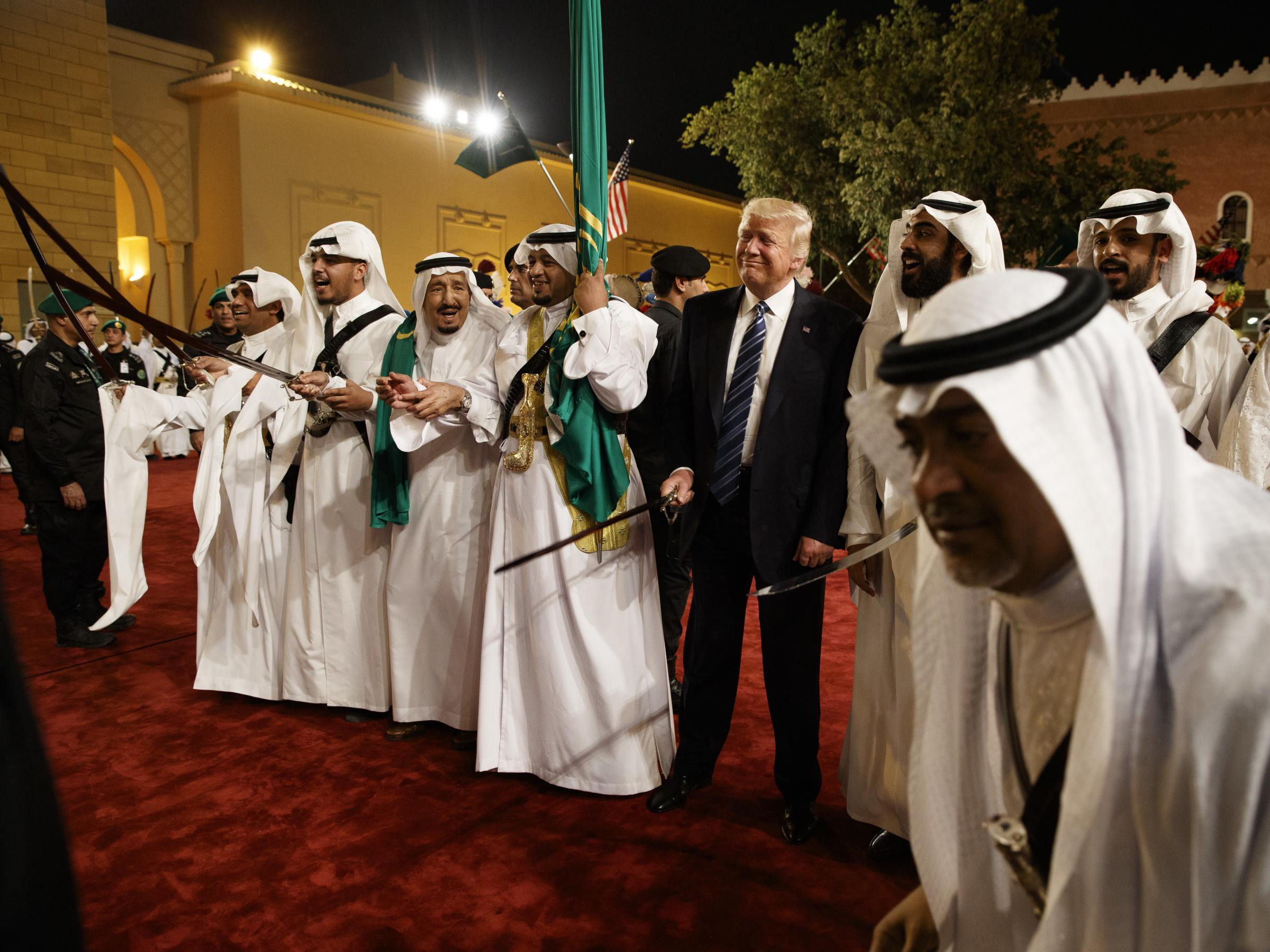 Watch online US President speaking in Saudi Arabia