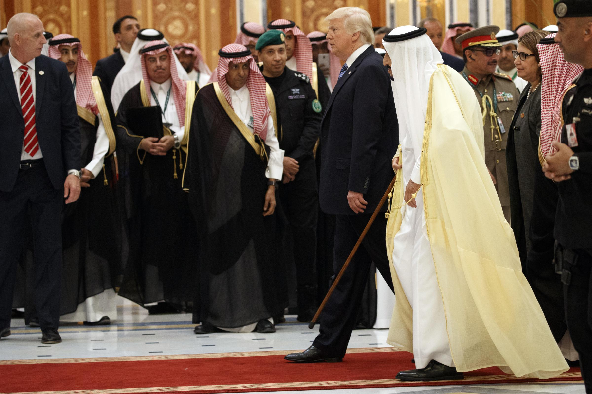 Trump Focuses On Impact Of Terrorism During Speech In Saudi Arabia
