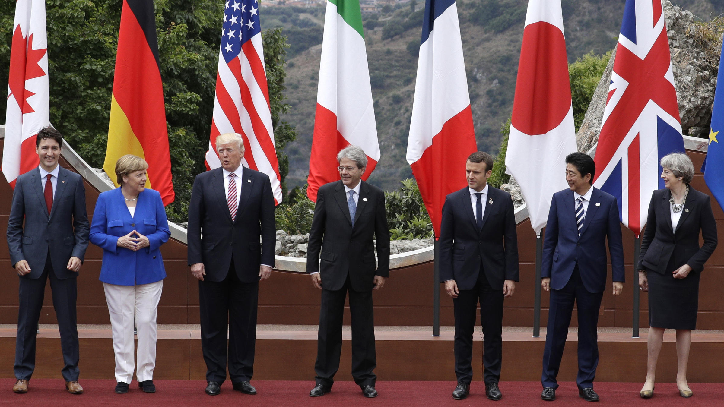 Deadlock At G7 As Trump Says US Undecided On Climate Change Commitment